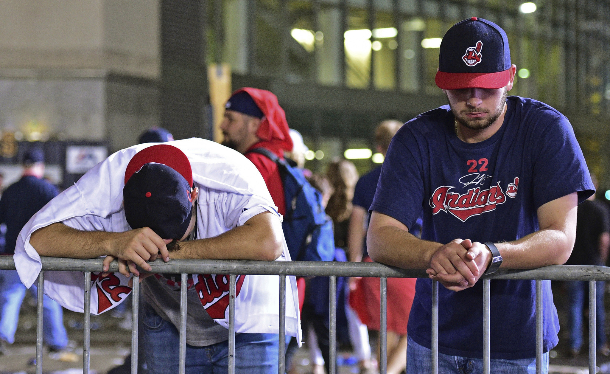 We know the feeling  A heartfelt lament for Indians fans - Chicago Tribune 5a96502aa63