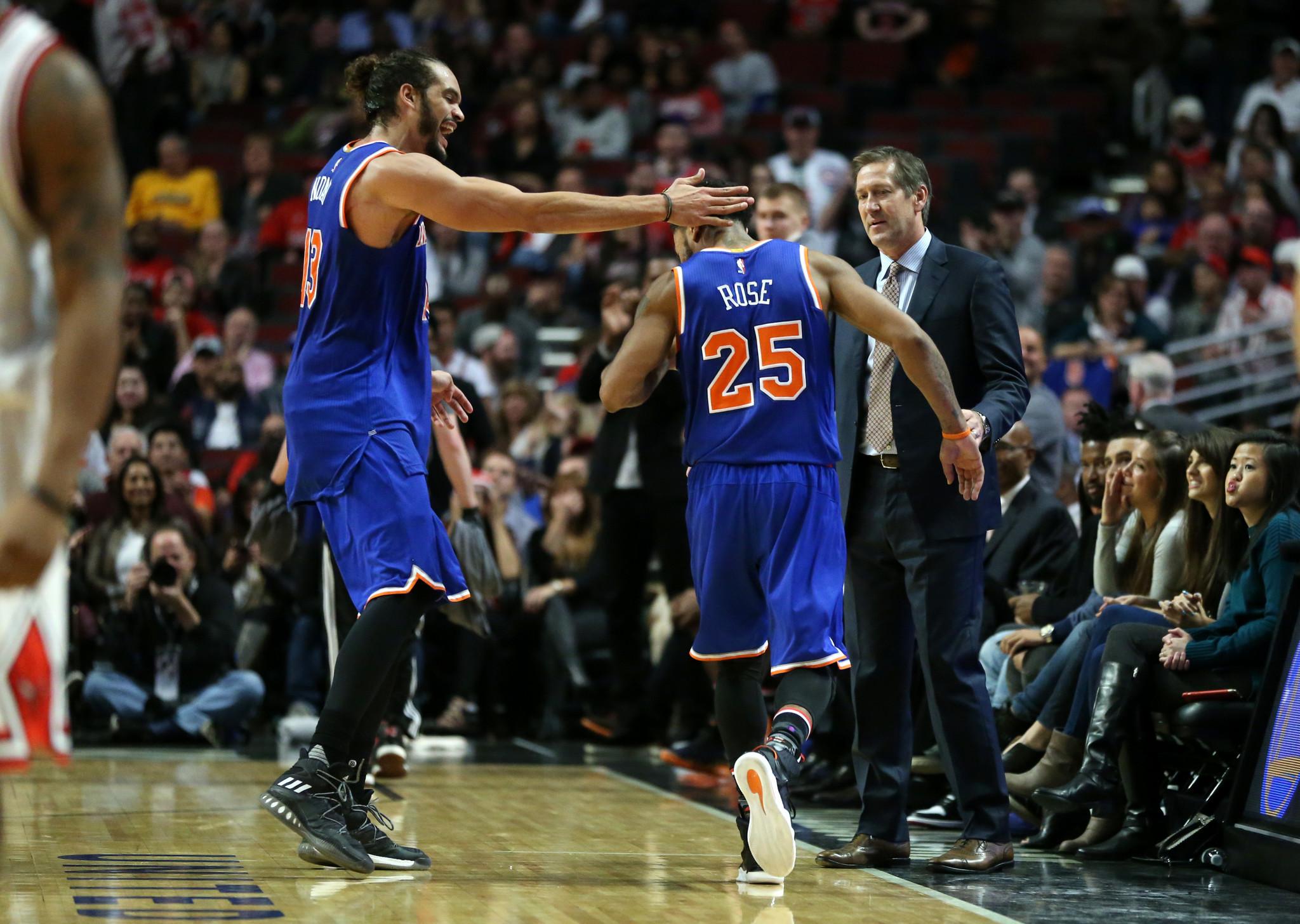 c1beba0edec8 Knicks bash Bulls with lift from Derrick Rose and Joakim Noah - Chicago  Tribune