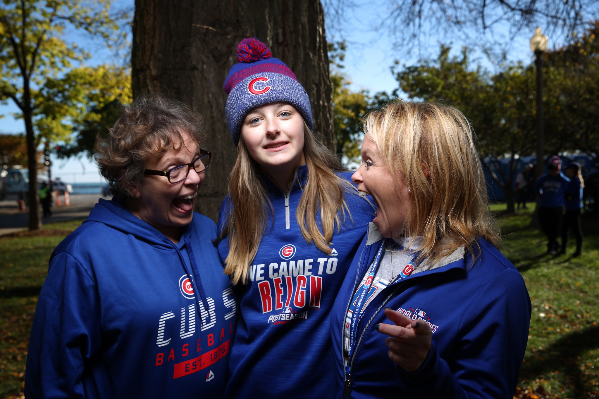 1a1ce0ac5 Joy spans generations at Cubs World Series rally and parade ...