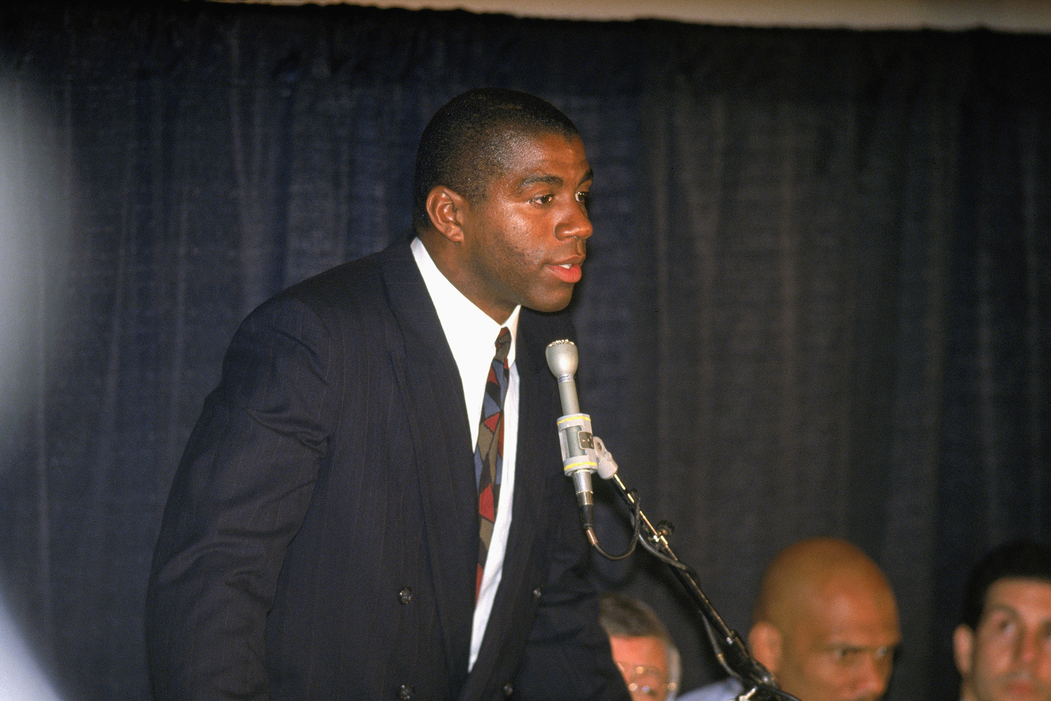 Magic Johnson remembers Nov. 7, 1991, the day he told the ...Magic Johnson Aids