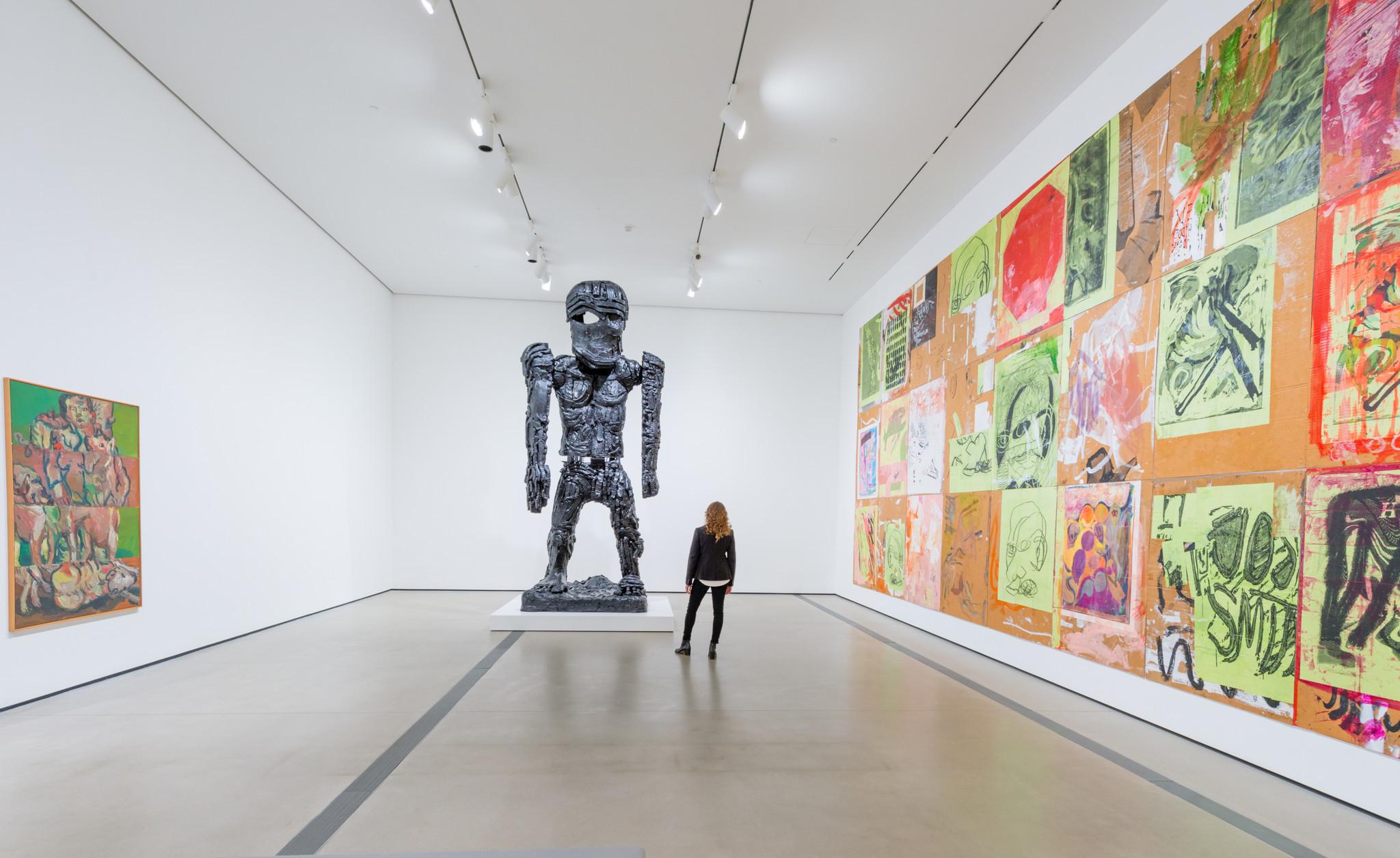 """""""Creature"""" installation view."""