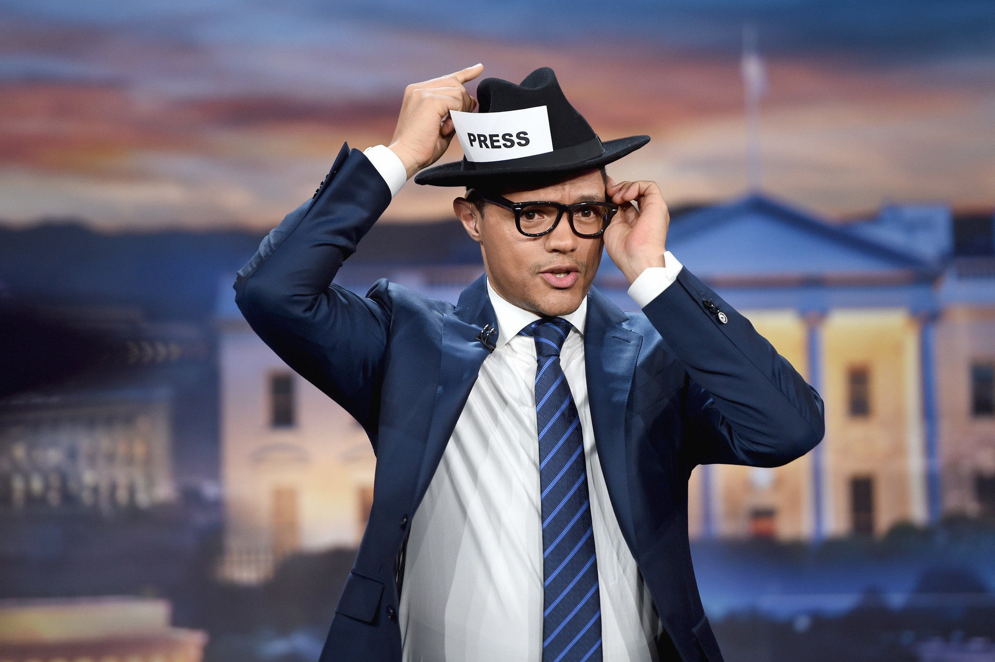 'The Daily Show with Trevor Noah' tries to makes us laugh ...