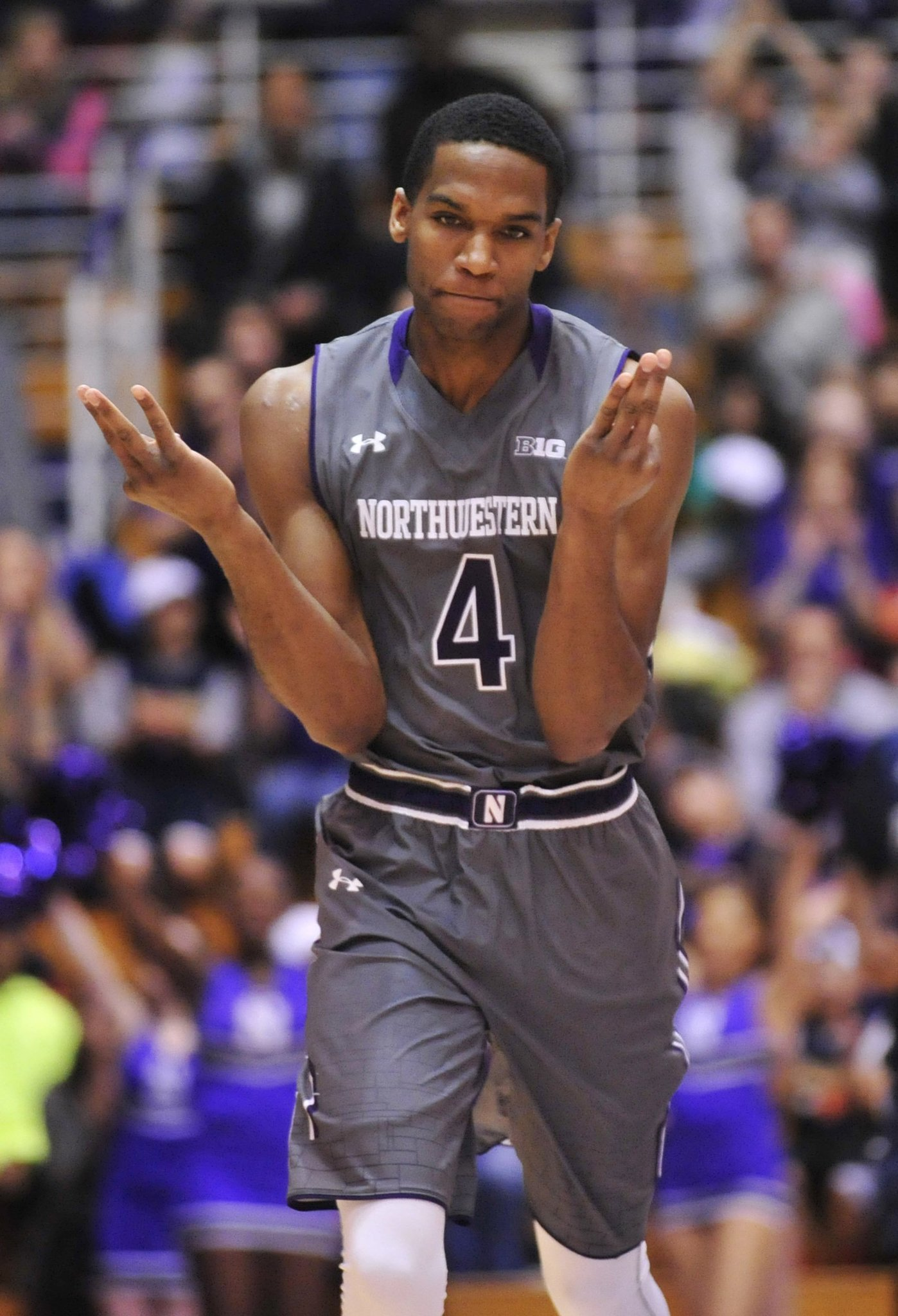 1e03ad3697e Northwestern preview  Wildcats need Vic Law to channel his favorite NBA  player - Chicago Tribune