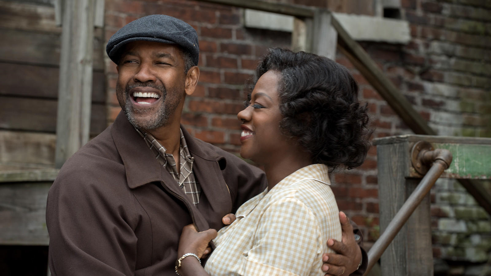 """Denzel Washington and Viola Davis play Troy and Rose Maxson in """"Fences."""" (David Lee / Paramount Pictures)"""