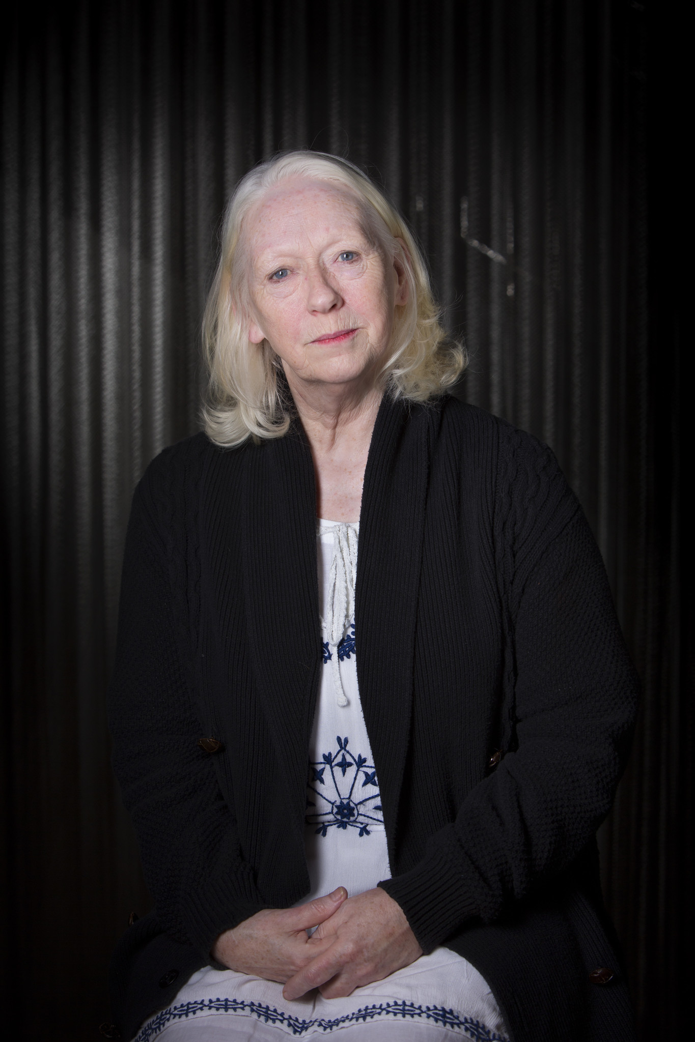 Marie Mullen, photographed at the Mark Taper Forum in Los Angeles.