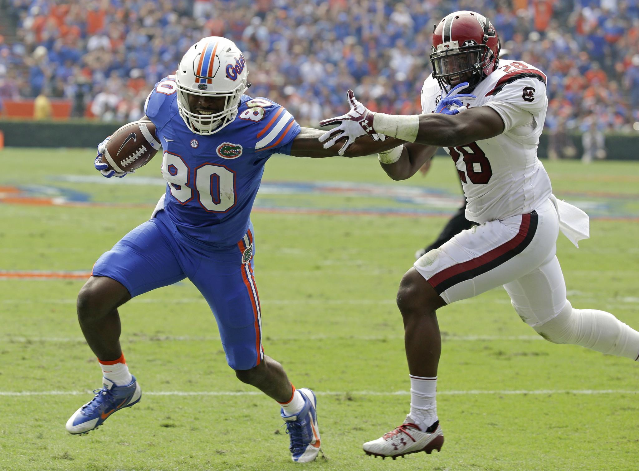 Florida beats Muschamp, South Carolina - Orlando Sentinel