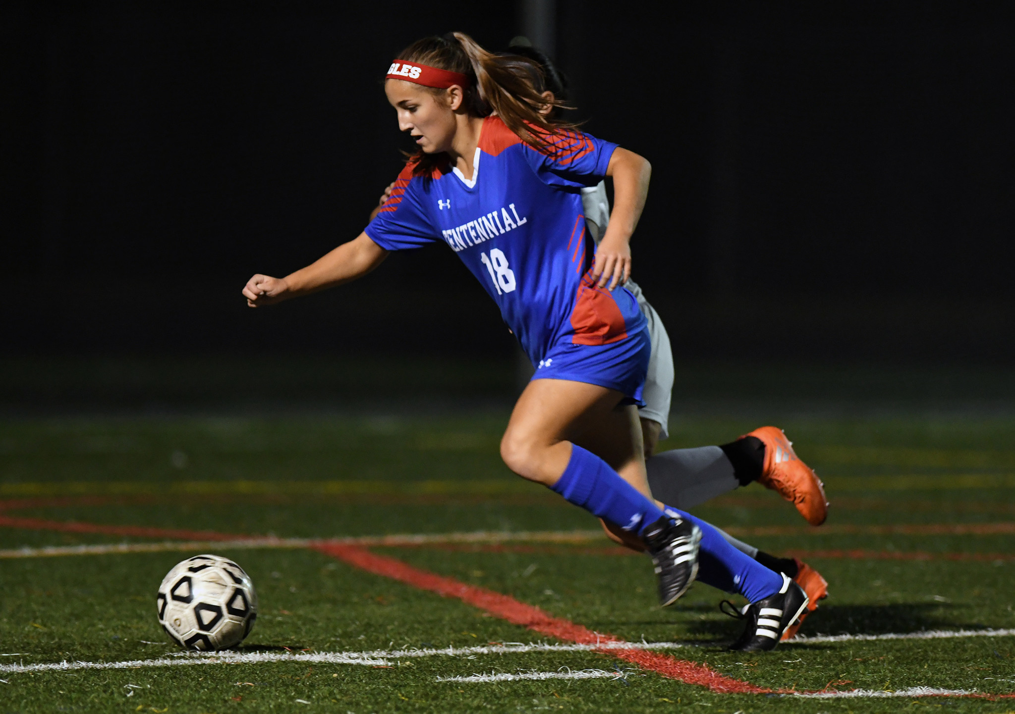 Second half goal pushes Urbana past Centennial girls ...