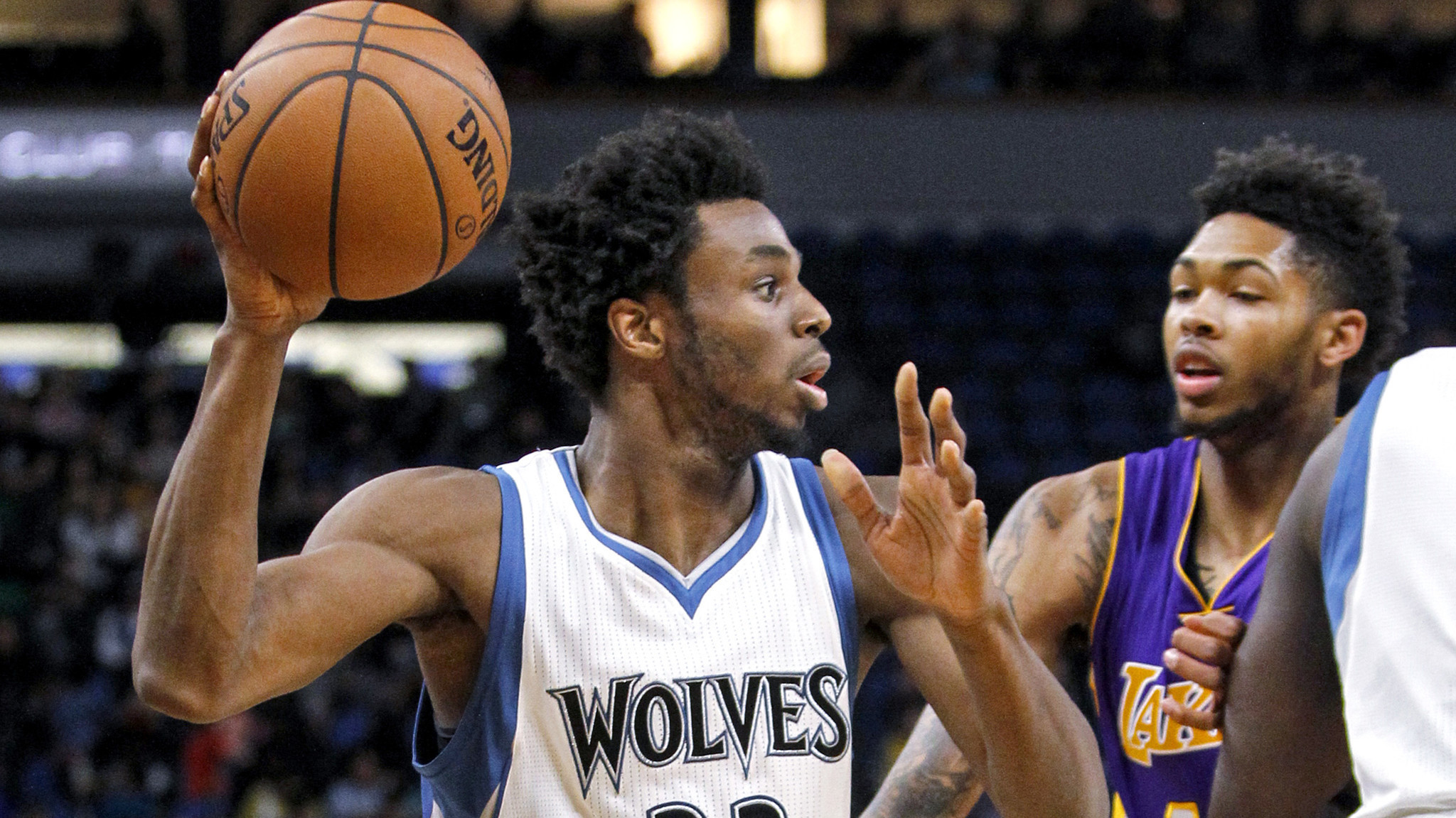 Andrew Wiggins and Timberwolves do a number on Lakers - LA ...
