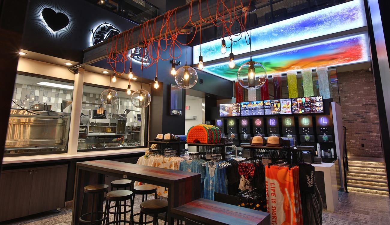 taco bell adds boozy vegas flagship in bid to energize brand chicago tribune. Black Bedroom Furniture Sets. Home Design Ideas