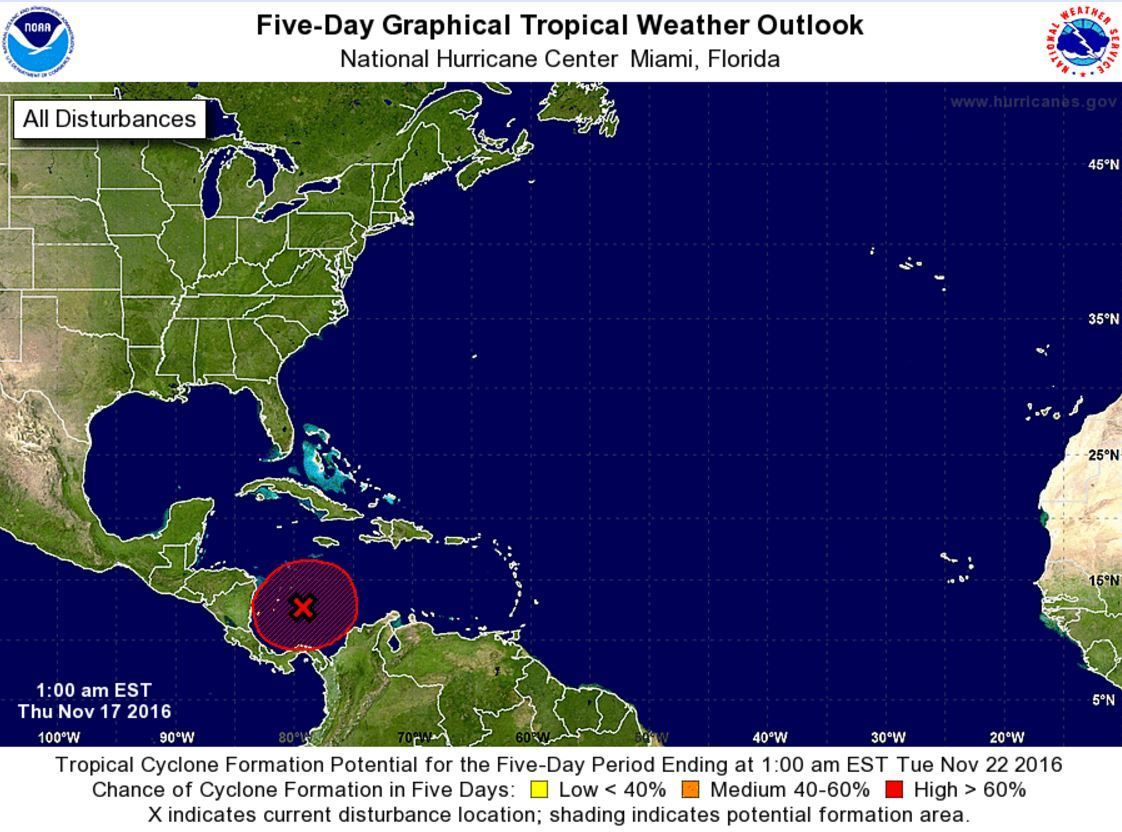 Weather Map Of The Carribean.Another Hurricane It S Possible But Unlikely To Threaten Florida