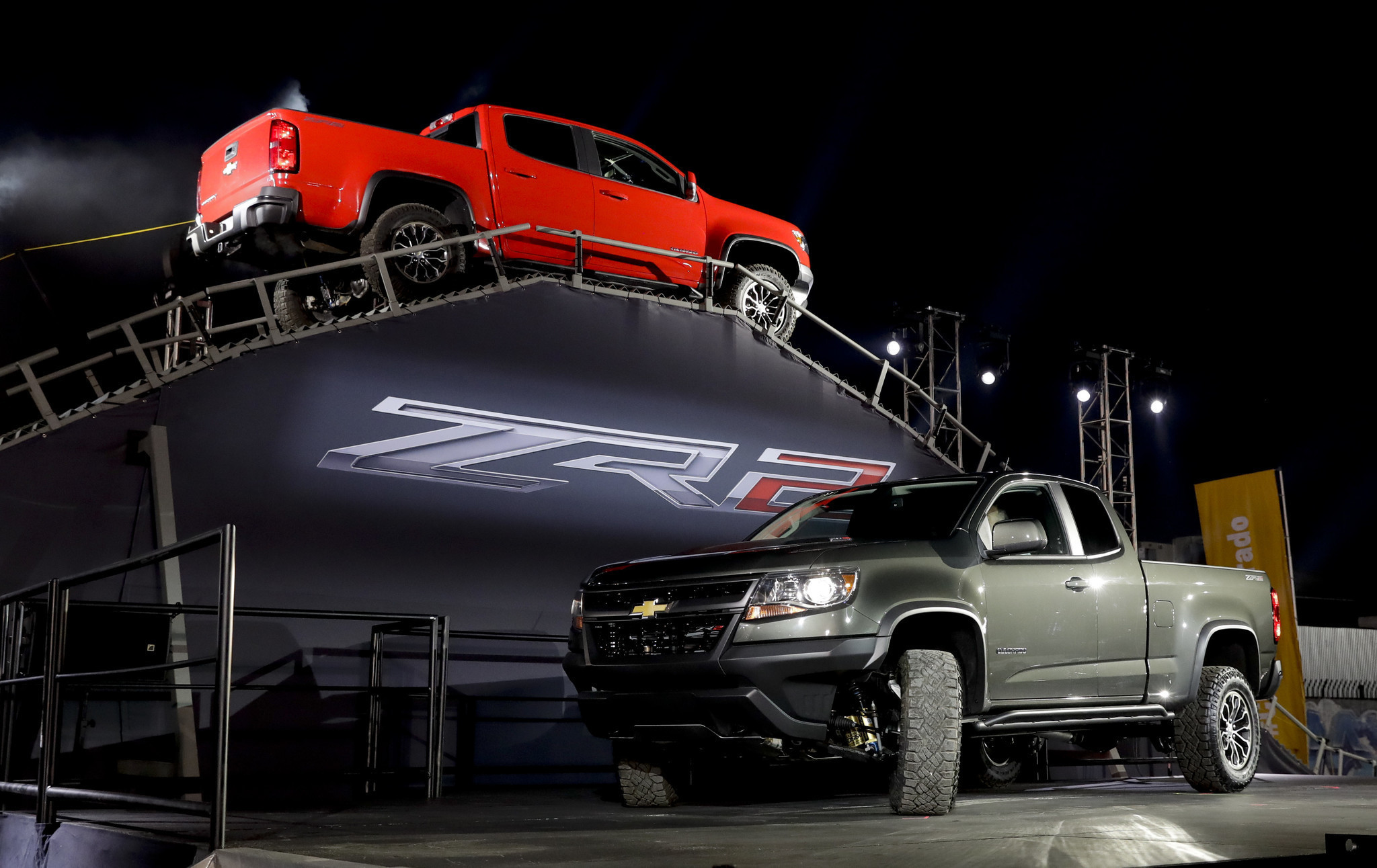 Chevy Introduces The New Colorado ZR2, An Off-road-ready