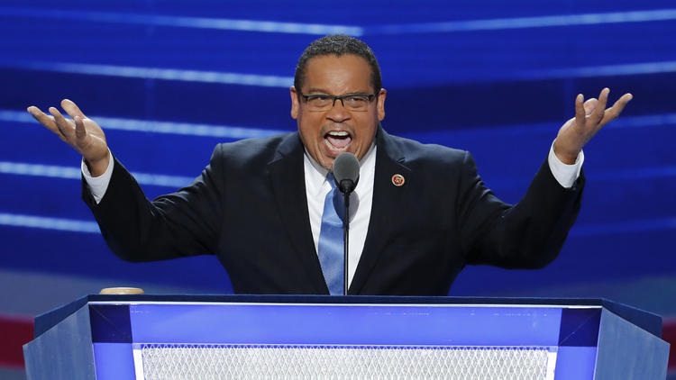 Rep. Keith Ellison, Who Is In The Running To Be The Next DNC Chair, Will Meet With California Democrats On Saturday