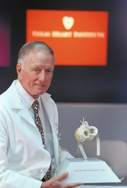 Dr. Denton Cooley, famed heart surgeon and Hopkins ...