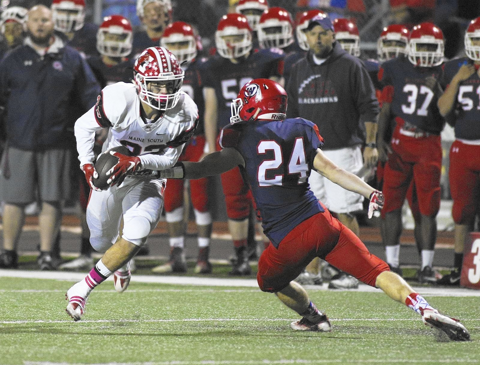 Class 8A football semifinal preview: Maine South vs ...