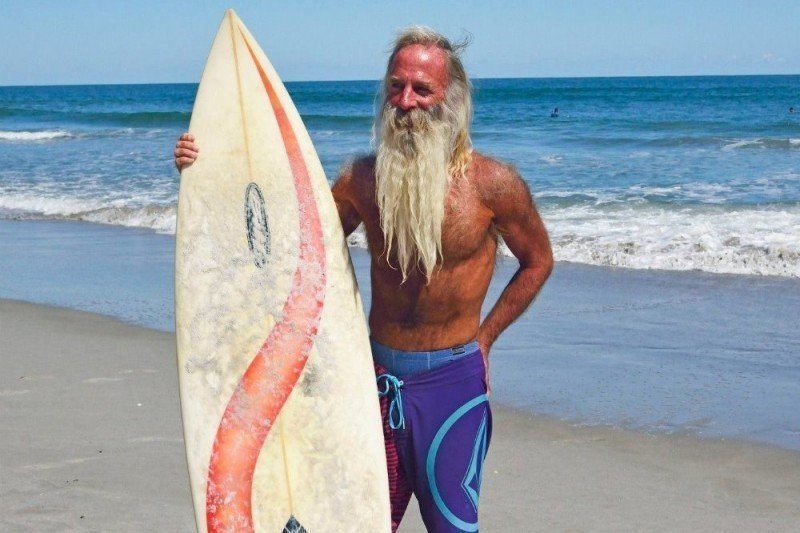 Cocoa Beach Man S Fulfilling Dream To Surf Off California Orlando Sentinel