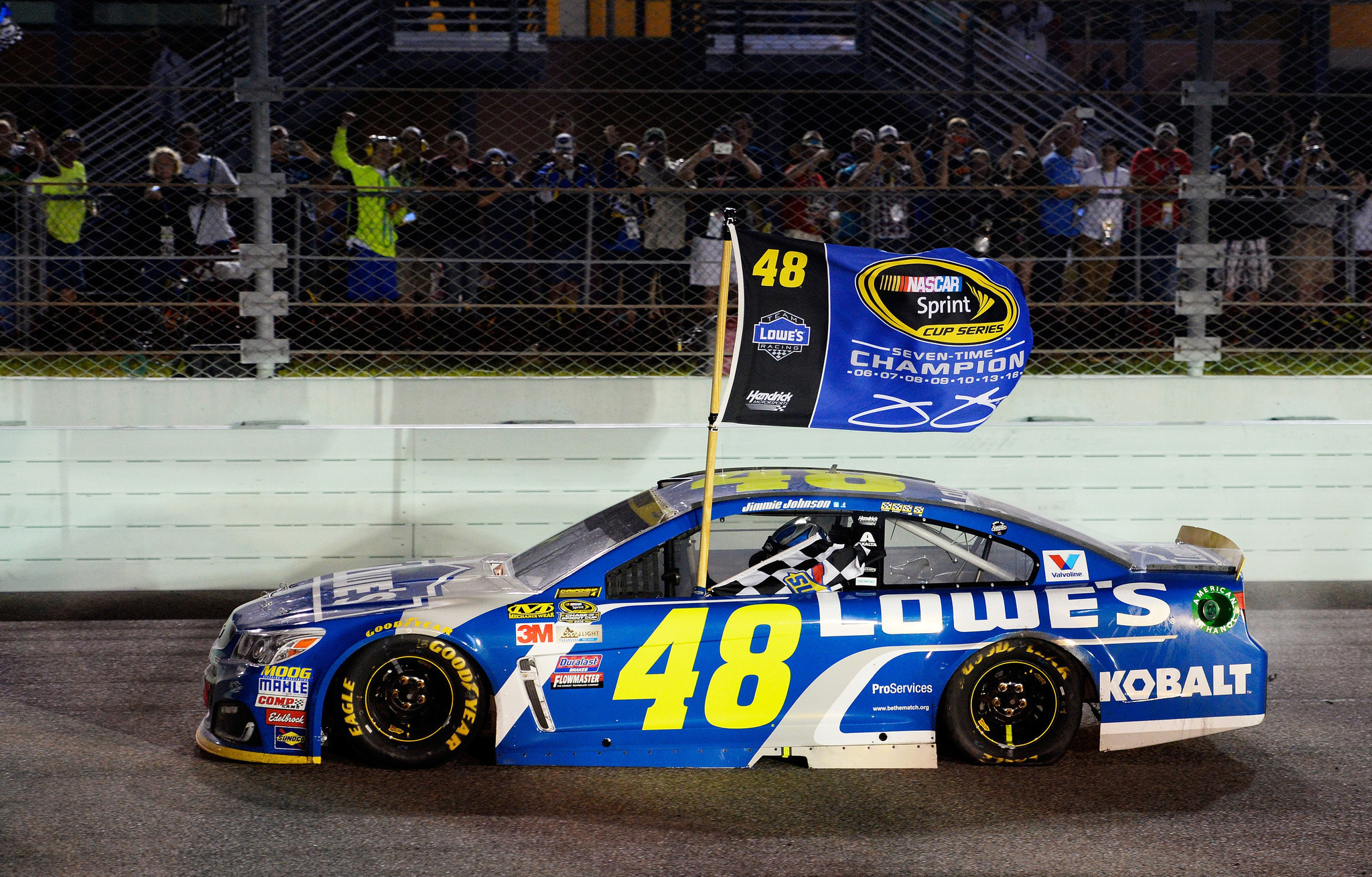 Johnson wins record-tying seventh NASCAR championship ...