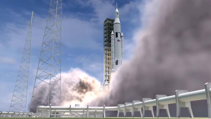 Space Launch System: Heavy-lift rocket designed to take humans to moon, Mars