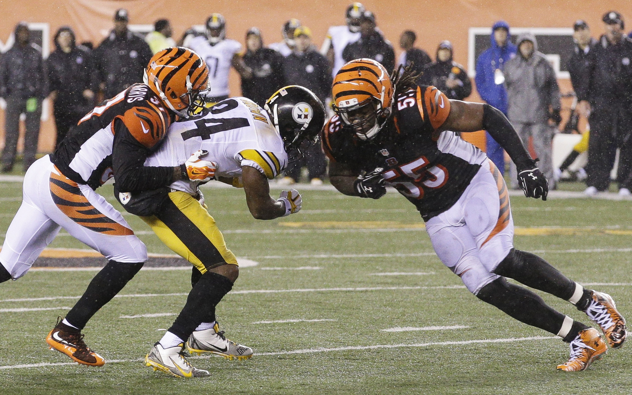 newest 3d36c a4348 Ravens downplaying revenge against Bengals LB Vontaze ...