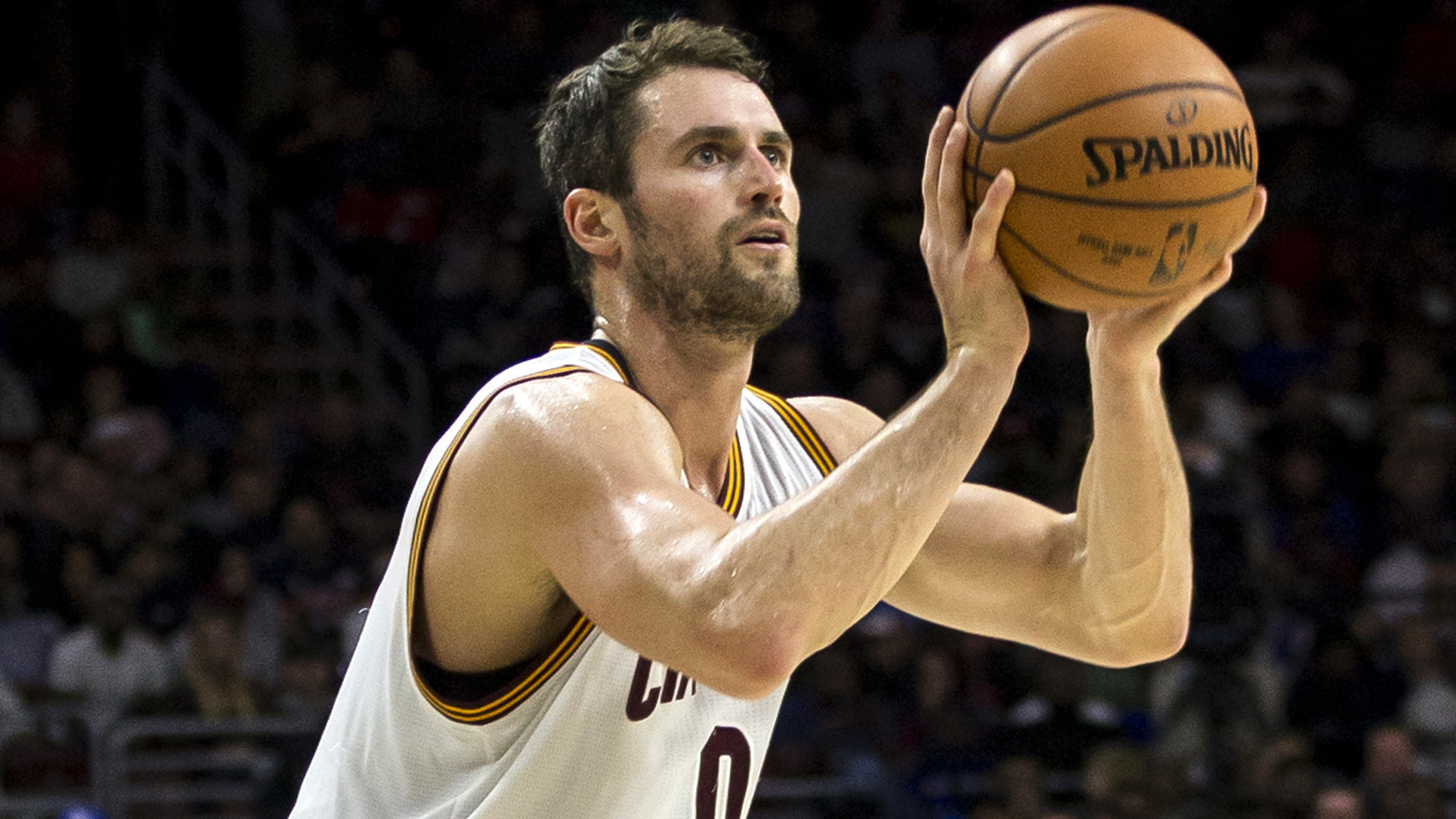 Cleveland's Kevin Love Scores NBA-record 34 Points In