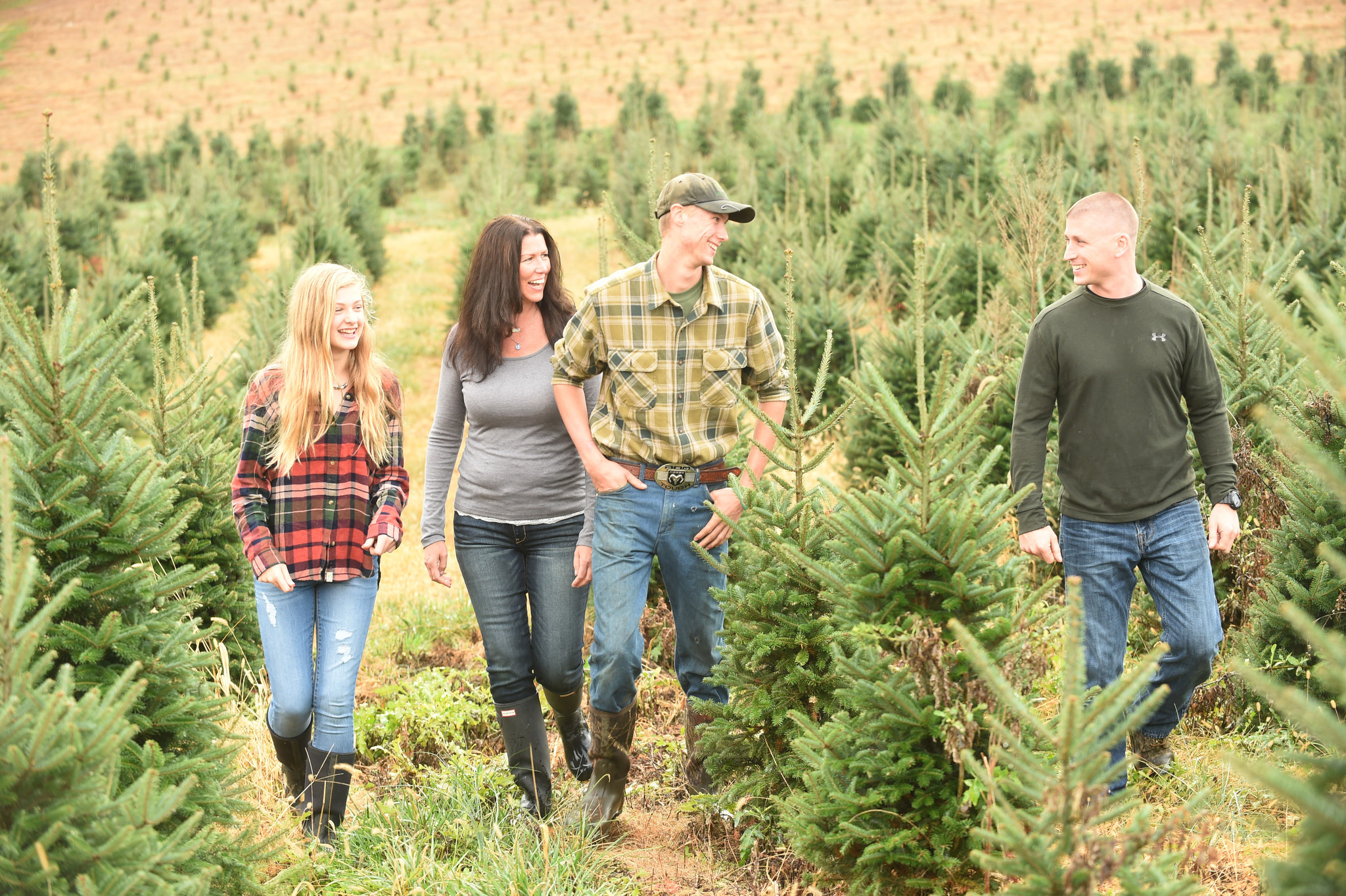 Loss Spurs Harford Christmas Tree Farm To Support Cancer