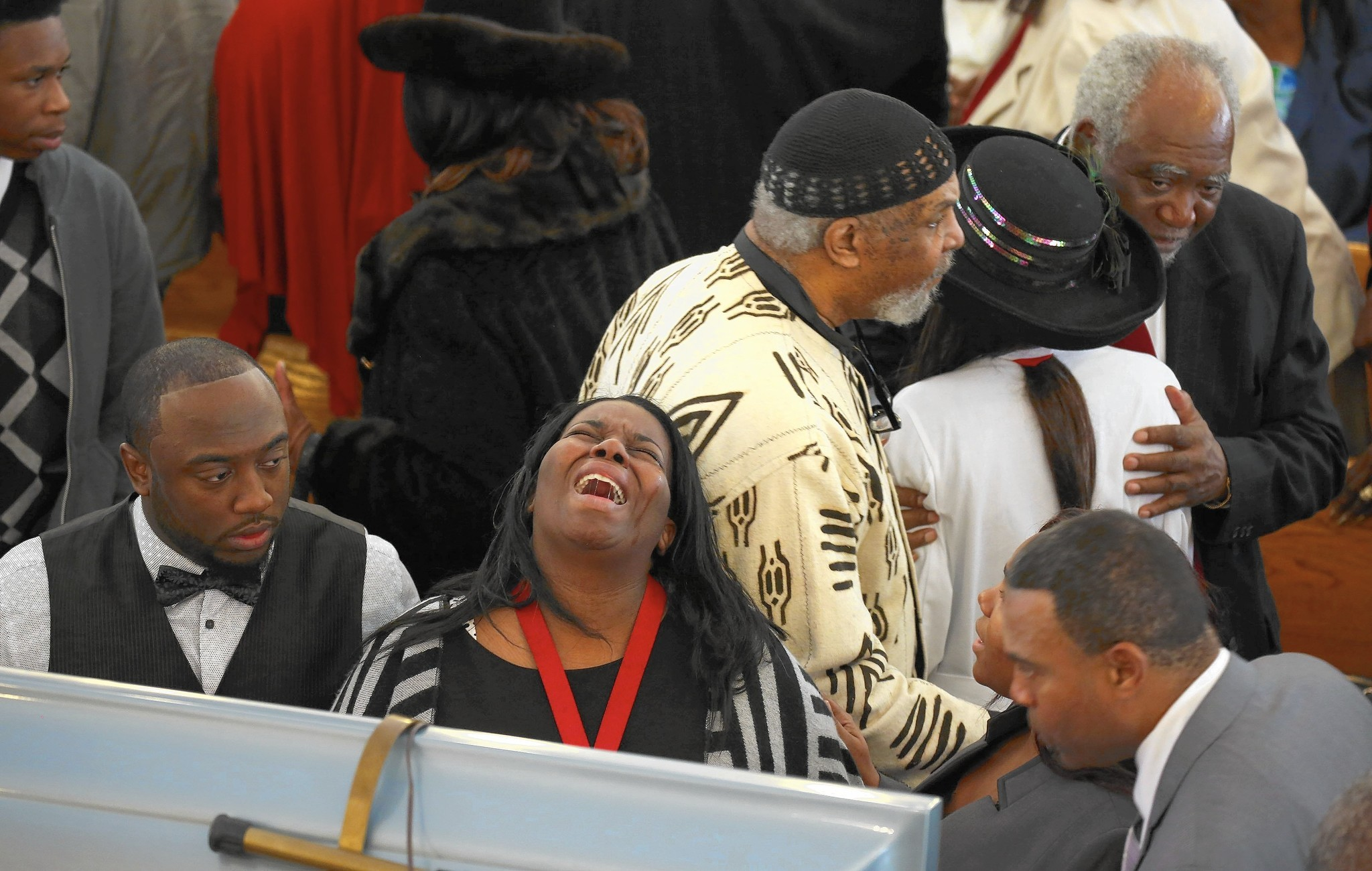 At Funeral, Pastor Says Shooting Death Of Rep. Danny Davis' Grandson 'a Clarion Call'