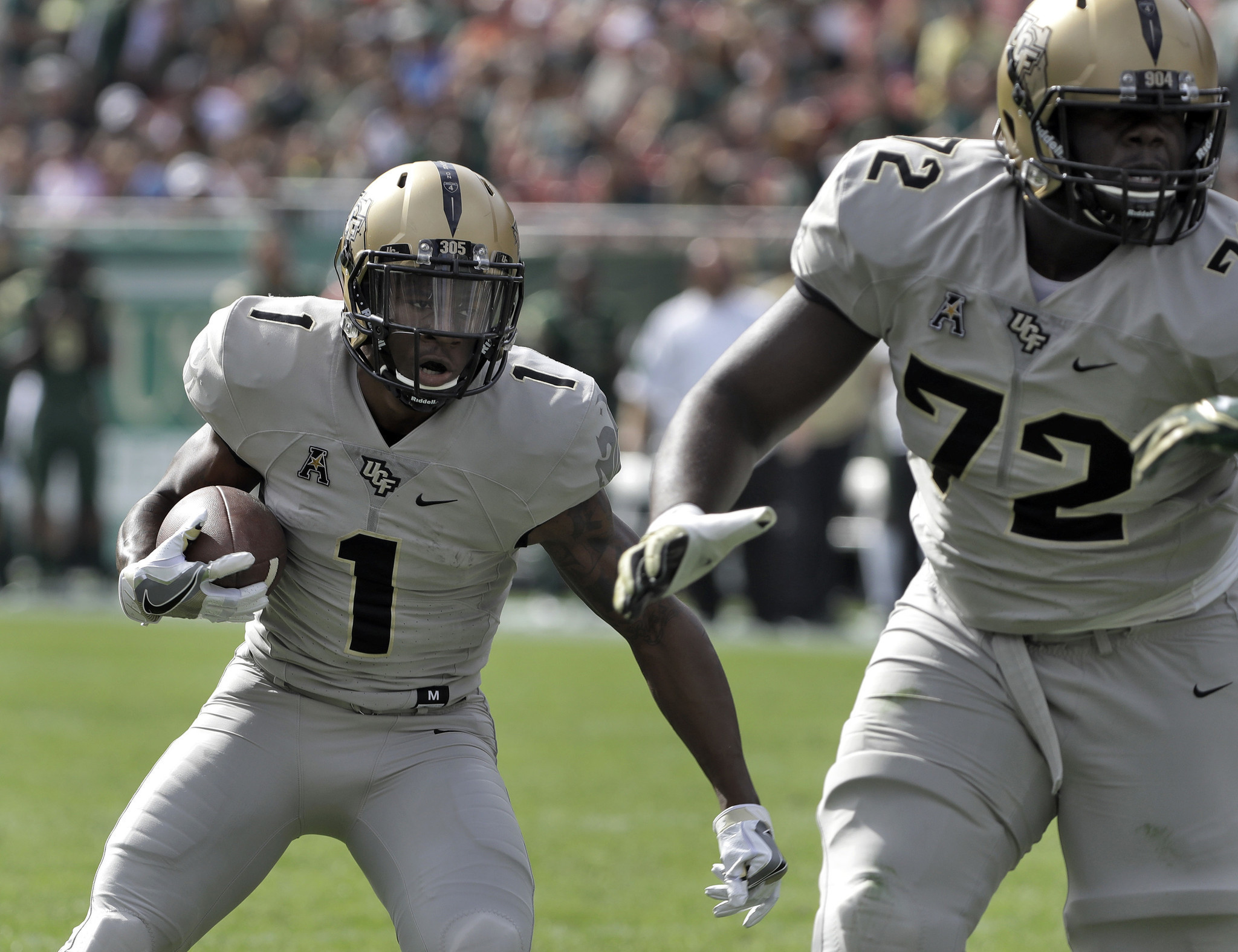 UCF eager to send seniors out with bowl win - Sun Sentinel
