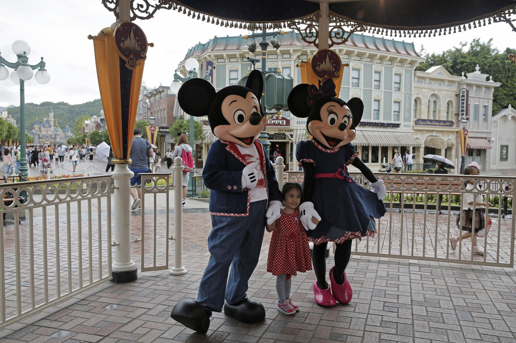 Hong Kong Disneyland To Expand Corporate Business At Andretti Polygo Minie Mouse By Sentinel Orlando