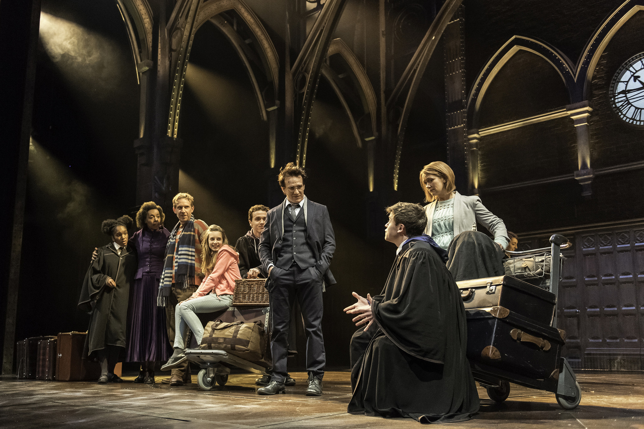 """Harry Potter and the Cursed Child"" at the Palace Theatre in London."
