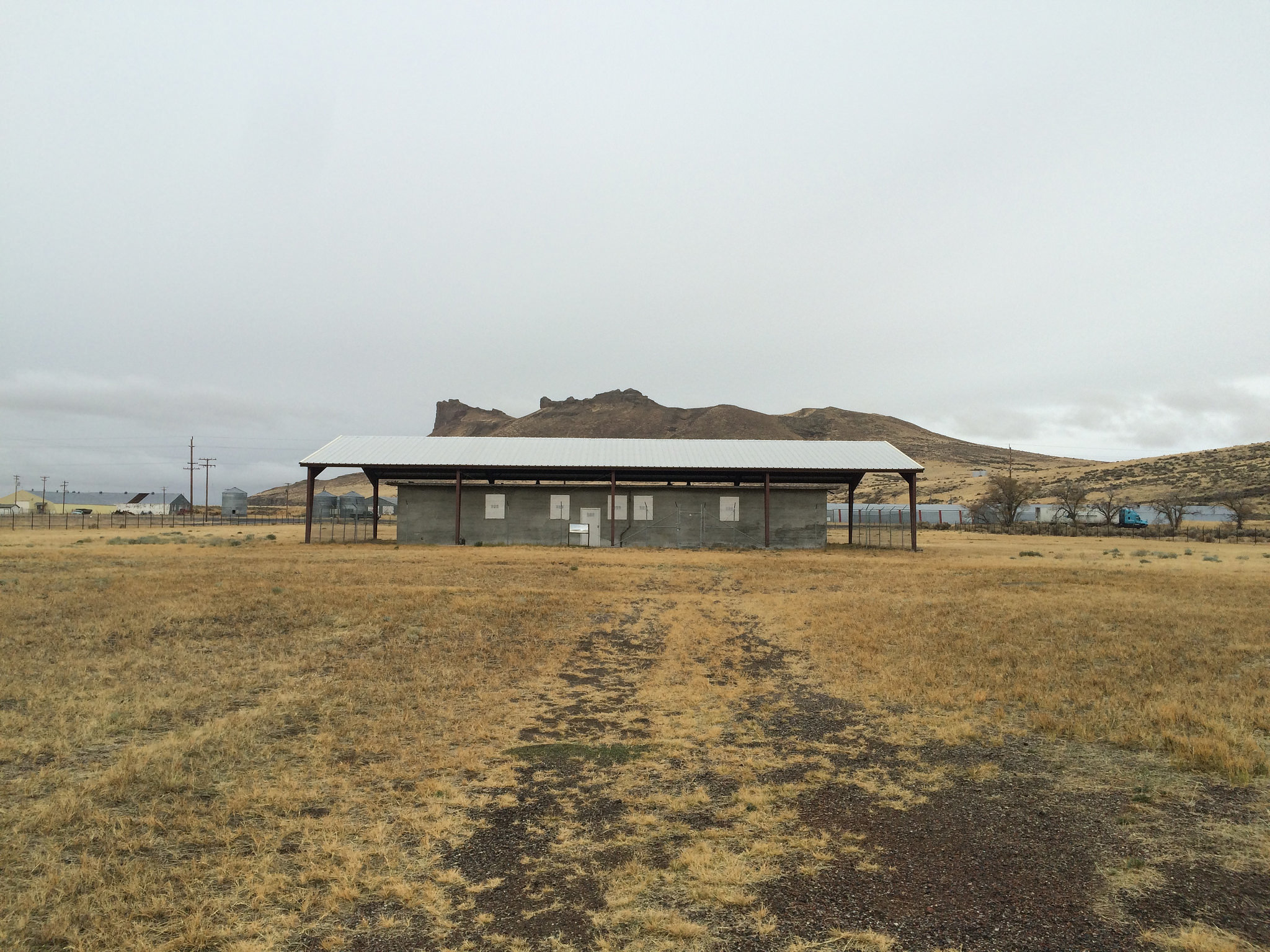 The Tule Lake Segregation Center was the most punitive of the Japanese American internment camps. Seen here: The old jail.