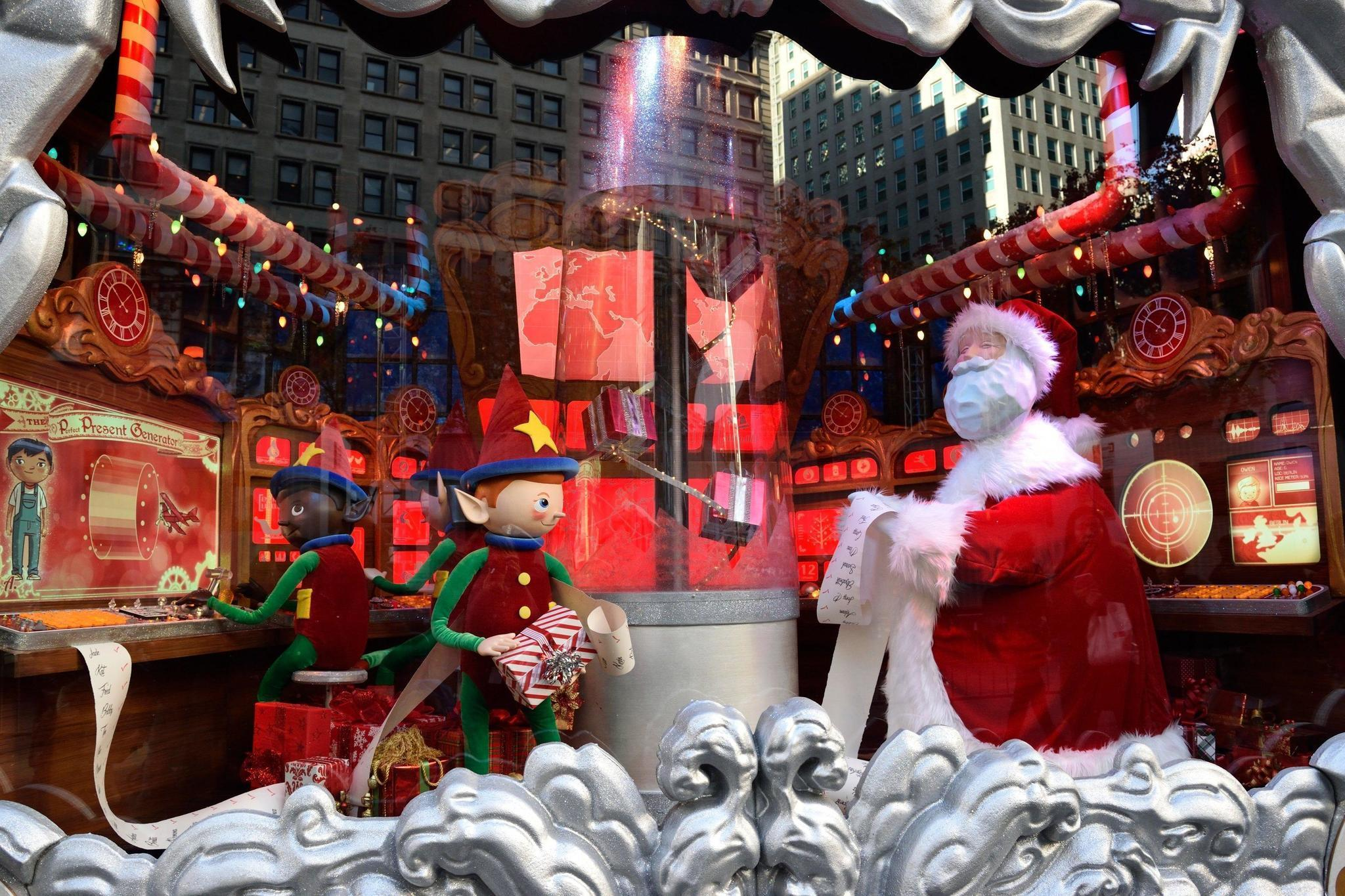 Behind The Scenes Of Macy S Iconic Holiday Window Display