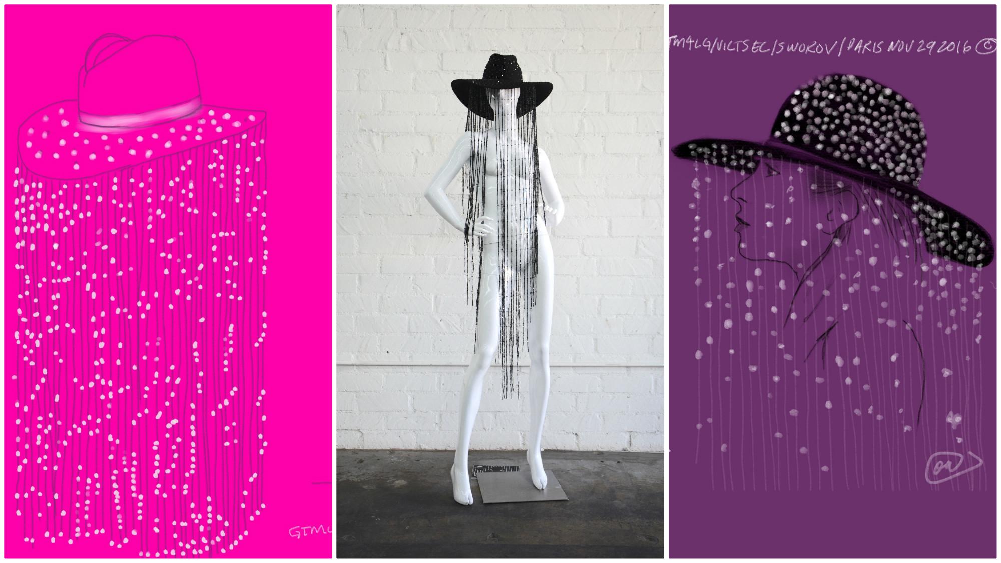 77ca2b157 Hats off to Lady Gaga's bespoke Victoria's Secret Fashion Show ...