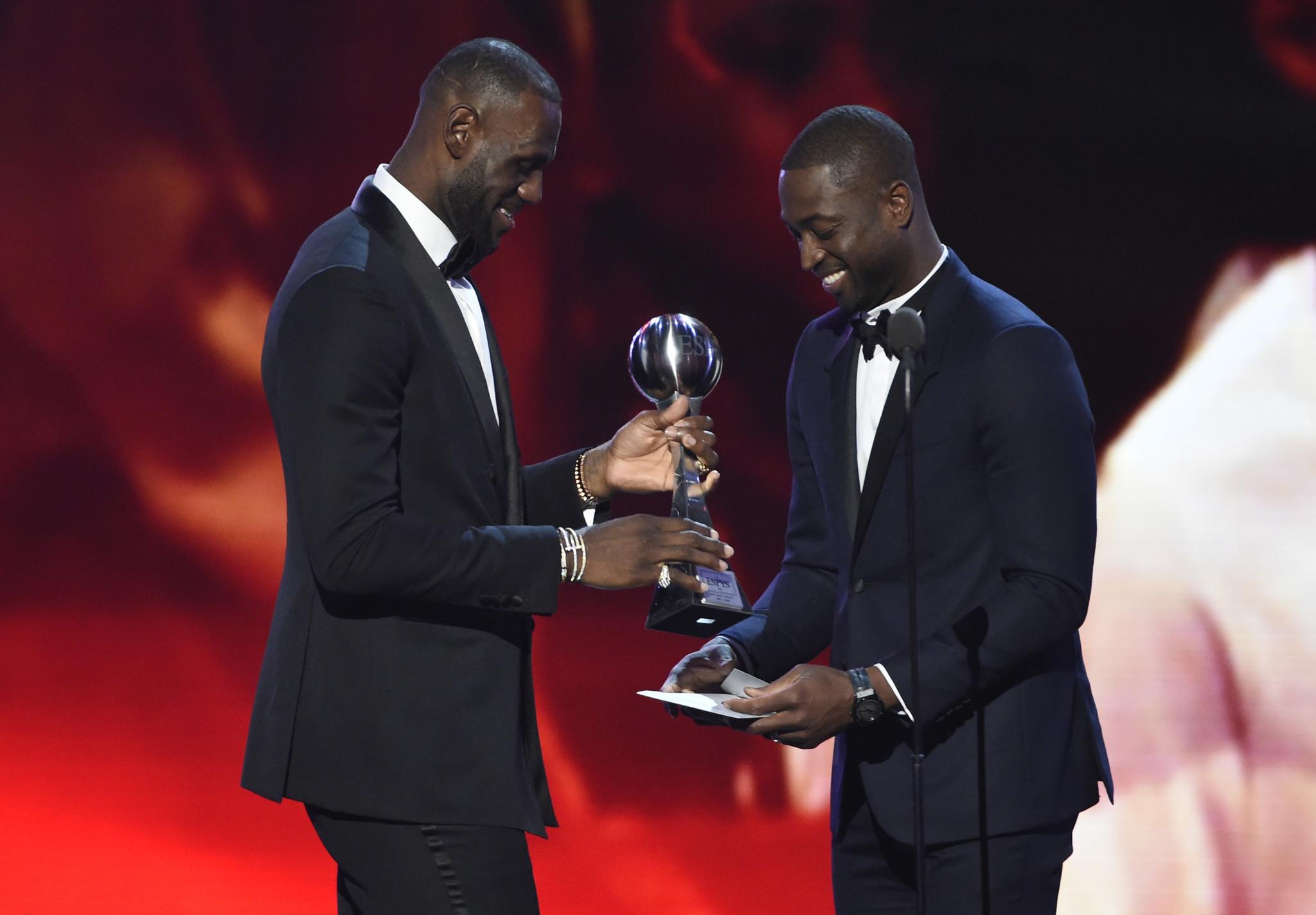 4fd80a1fe Dwyane Wade and LeBron James share timeless bond