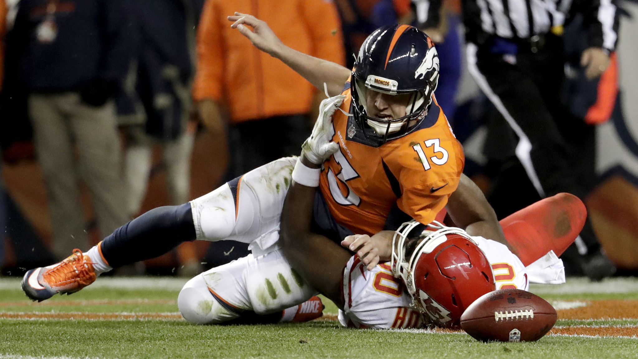 The Denver Broncos ruled out Siemian for Sunday s game at Jacksonville 4f1484dbf