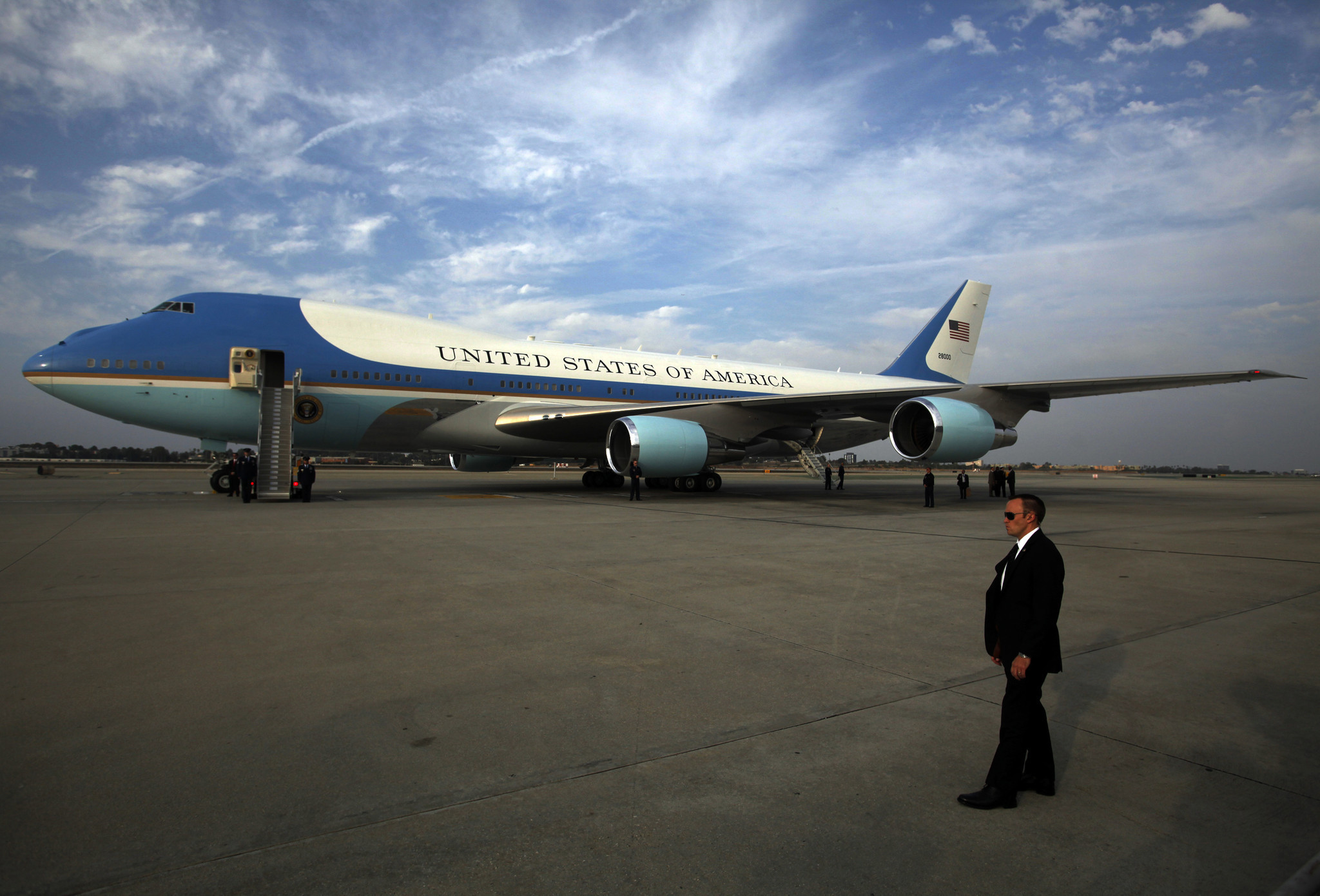 Trump on Boeings Air Force One contract: Cancel order!
