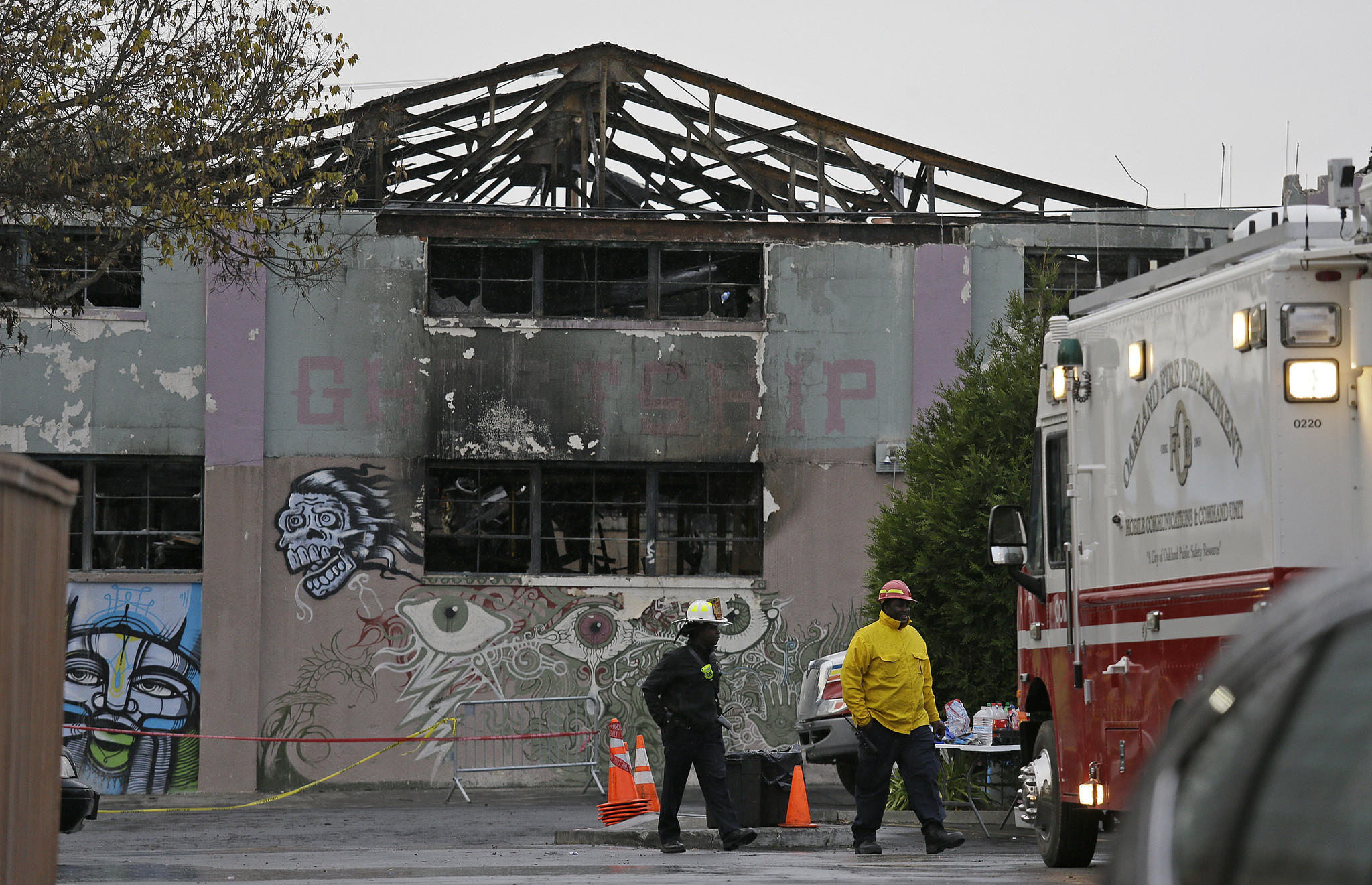 Oakland Warehouse Fire Survivor People Dying Right In