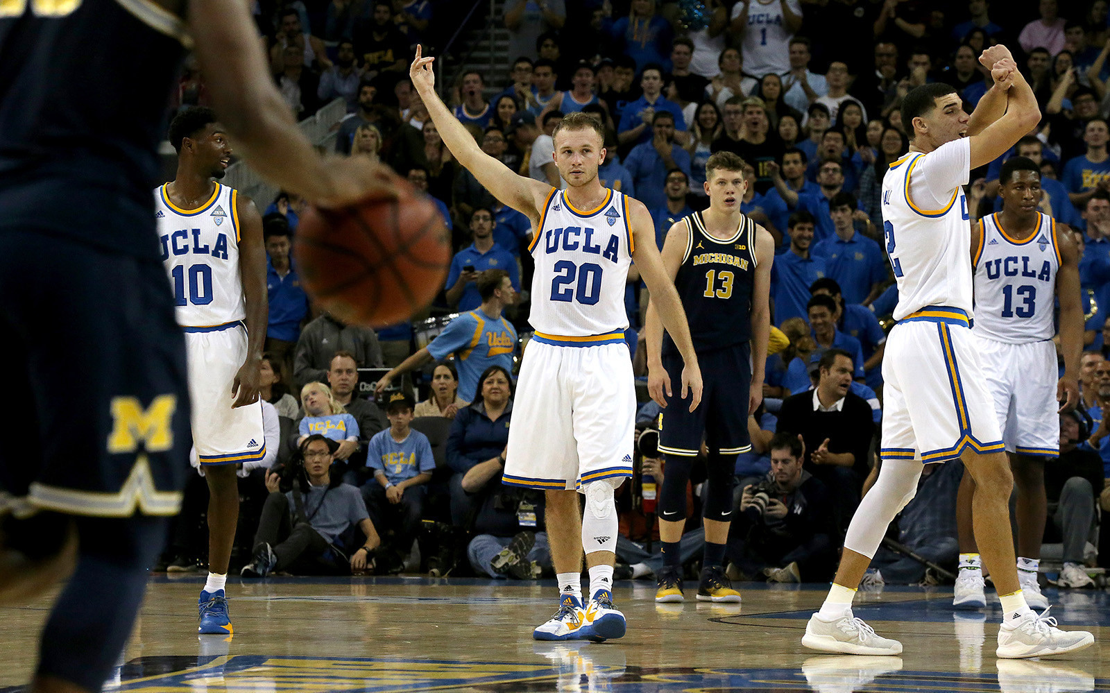 Bryce Alford stuck out his right hand high into the air and curled his  fingers to the roaring crowd. Higher … higher … Alford kept his hand  raised 34da65088
