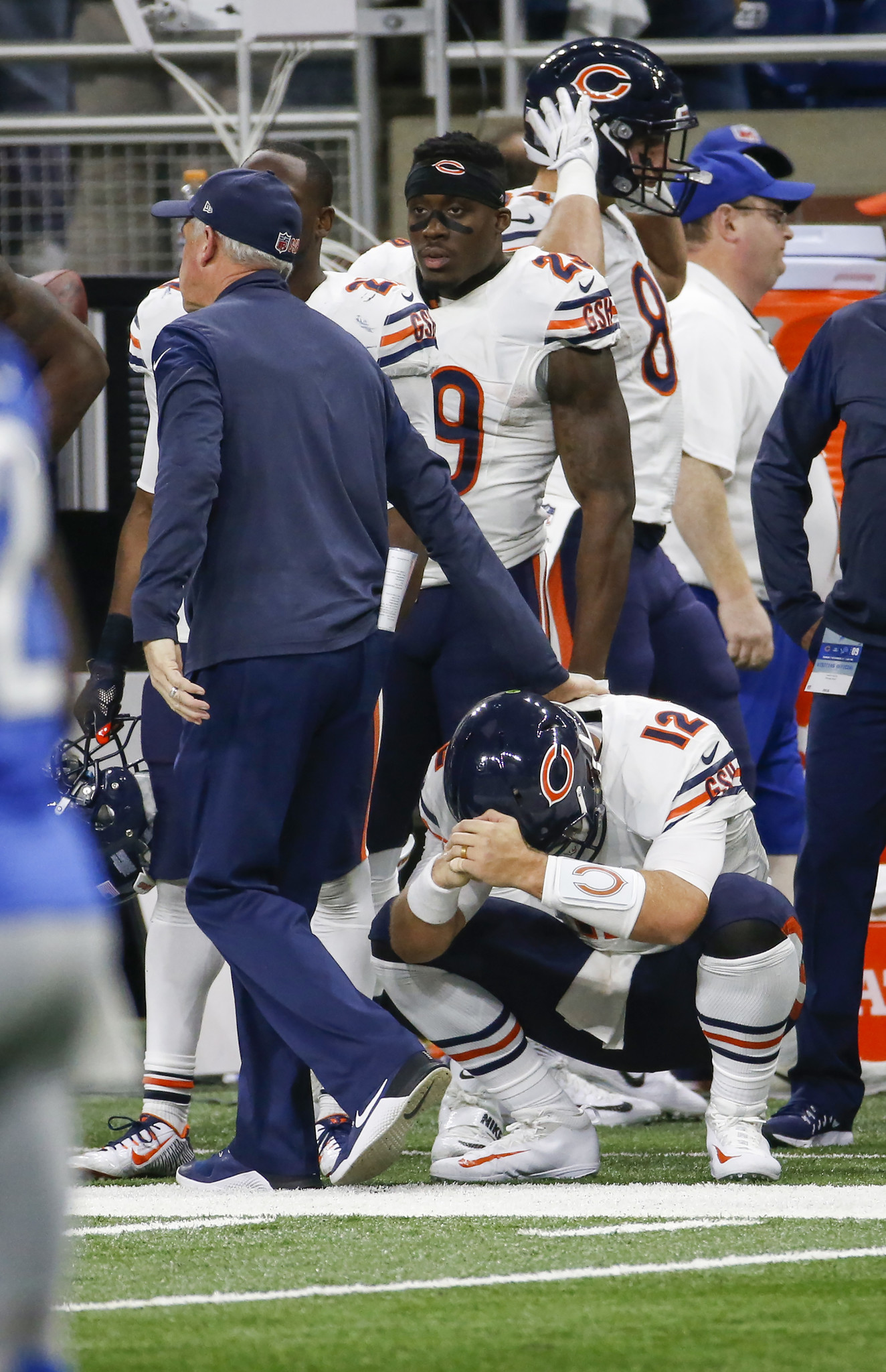bears lions play by play