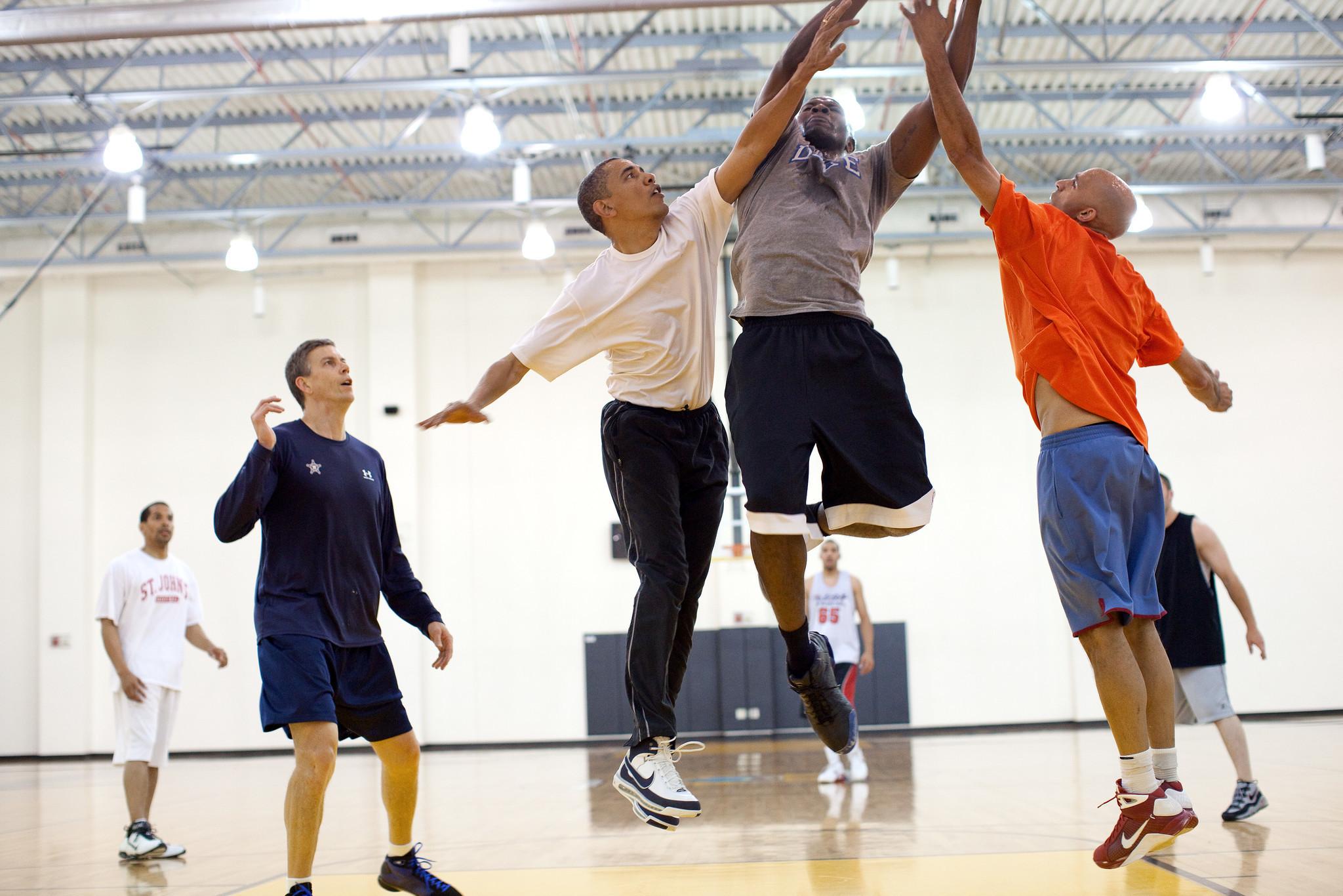 Reggie Love on President Obama's basketball skills: 'Not ...