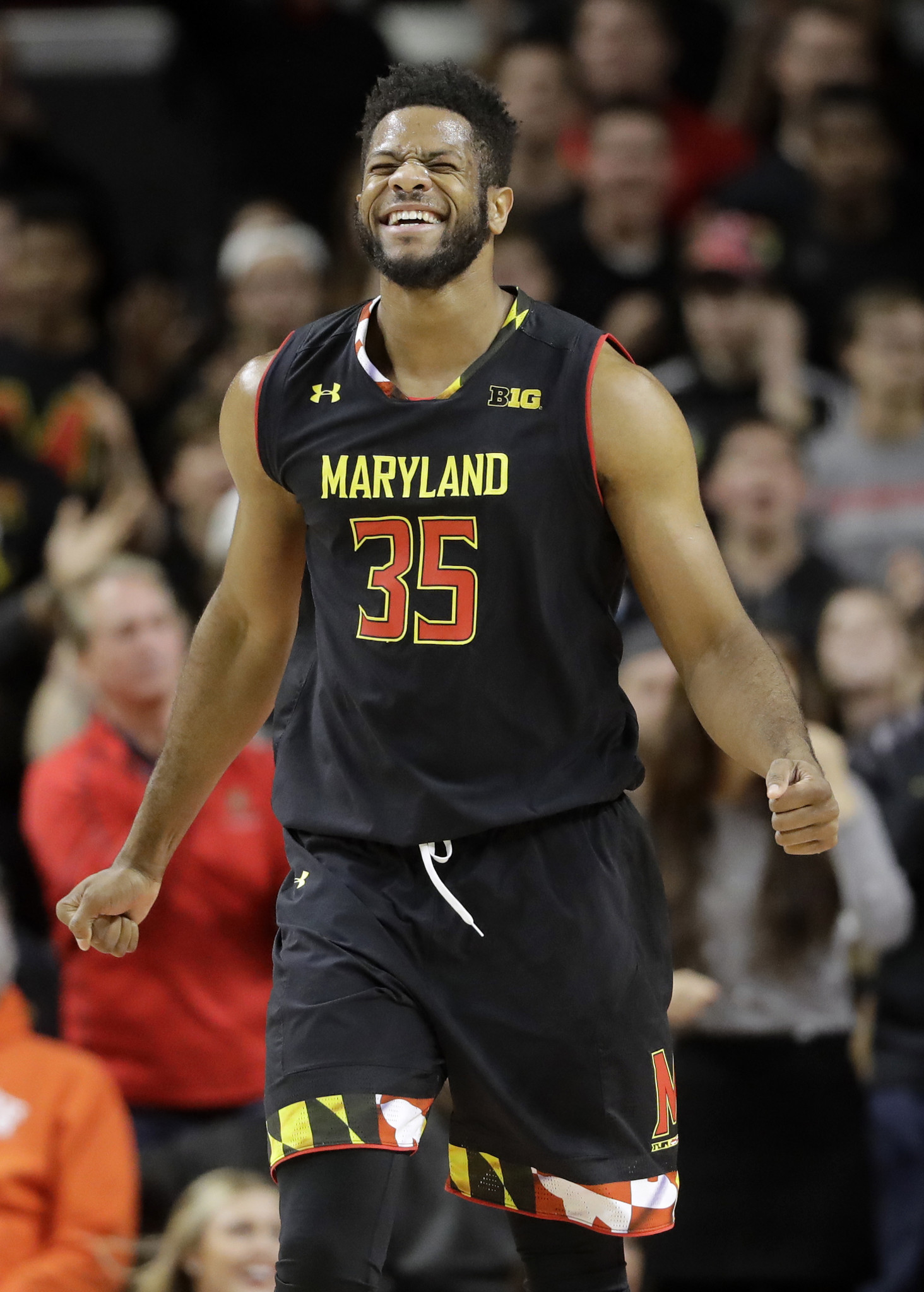new concept 53b67 59fd3 Terps' Damonte Dodd 'out for a while' with knee injury ...