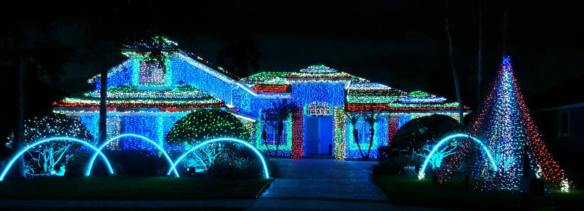 all is bright holiday light displays across central florida orlando sentinel