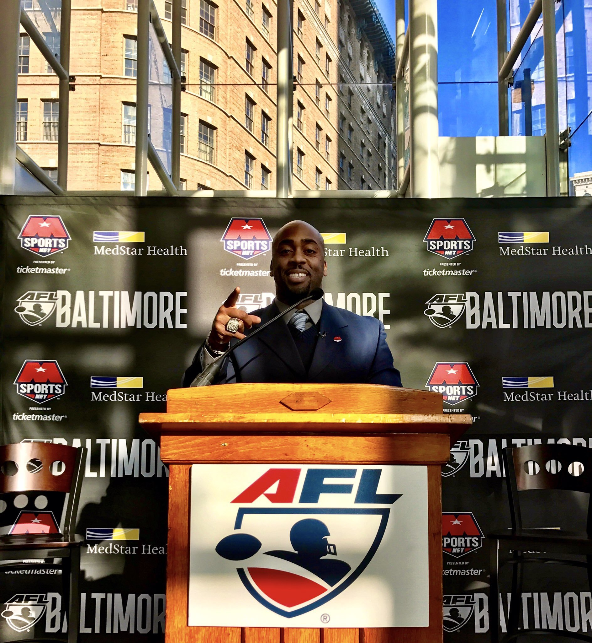Omarr Smith named first head coach of Baltimore Arena ...