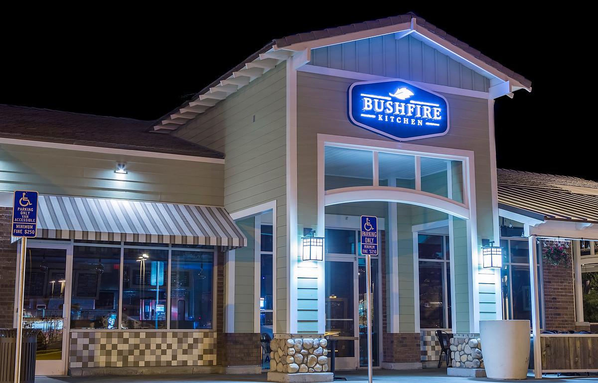 The new Bushfire Kitchen in Del Mar.