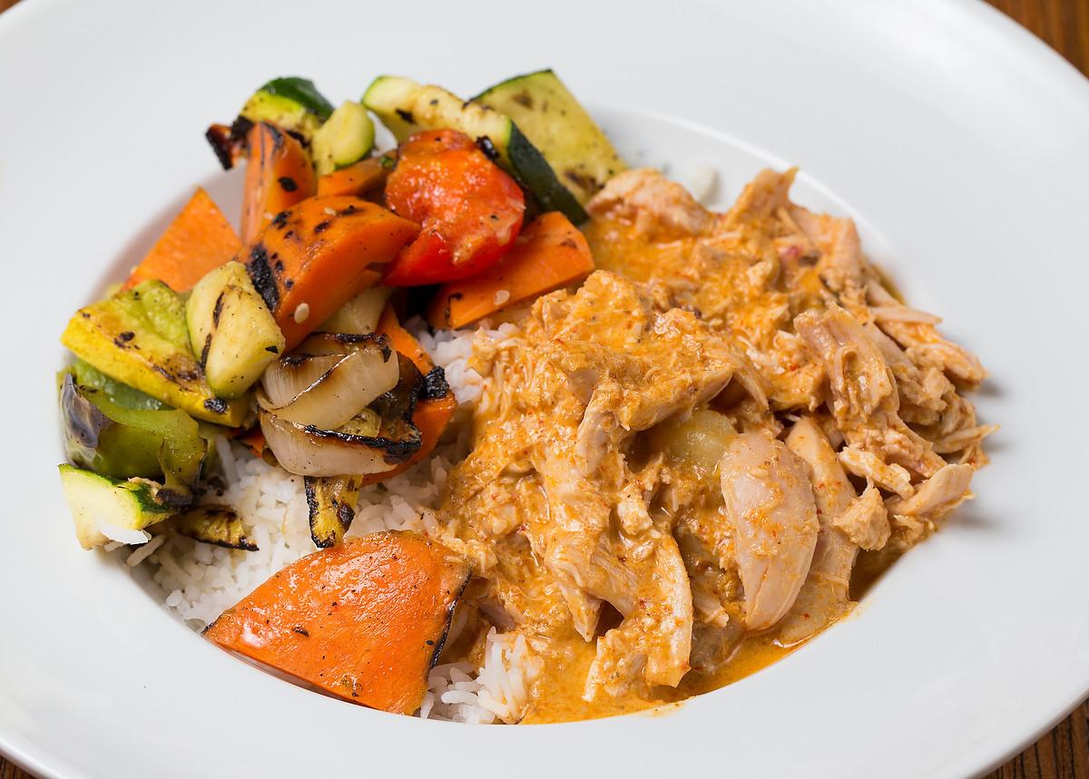 Bushfire's Panang Chicken Curry.