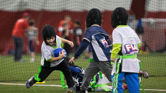 fca83aa905e Helmets for flag football  Welcome to our new reality - Chicago Tribune