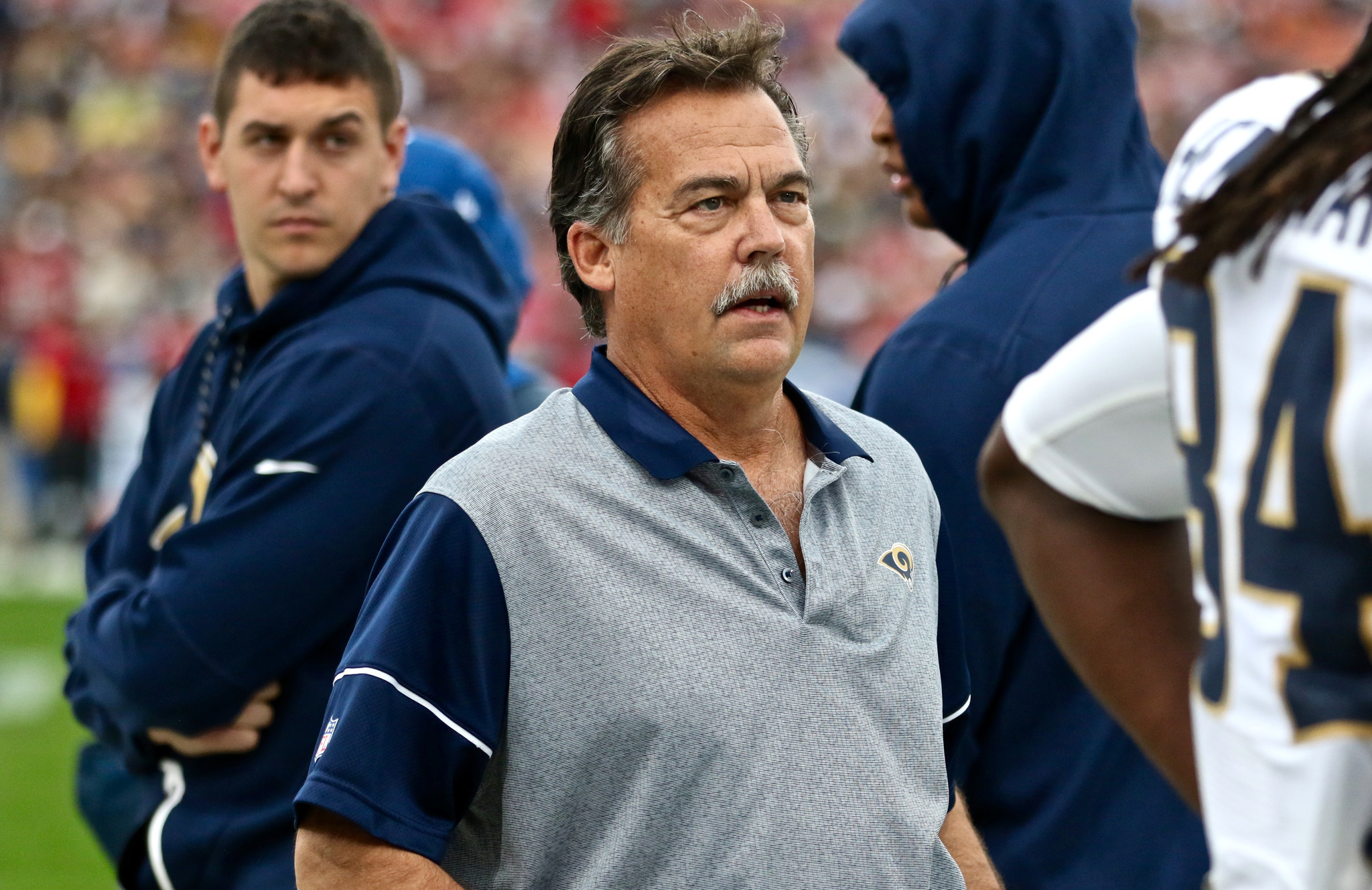 la times sports letters letters jeff fisher s rolled because rams rolled 41983