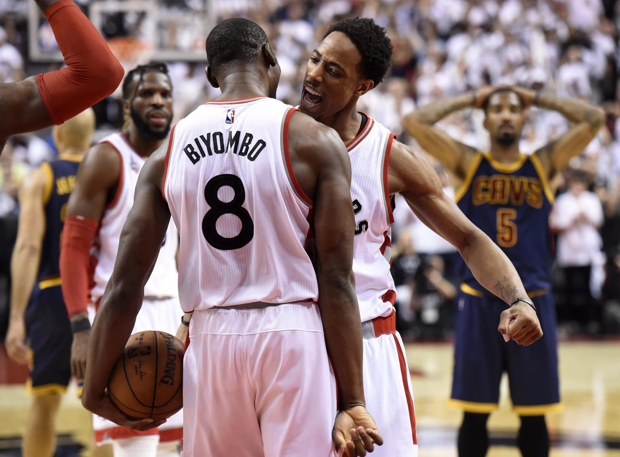 9f2c87272c90 Bismack Biyombo looks fondly on the Toronto Raptors - Orlando Sentinel