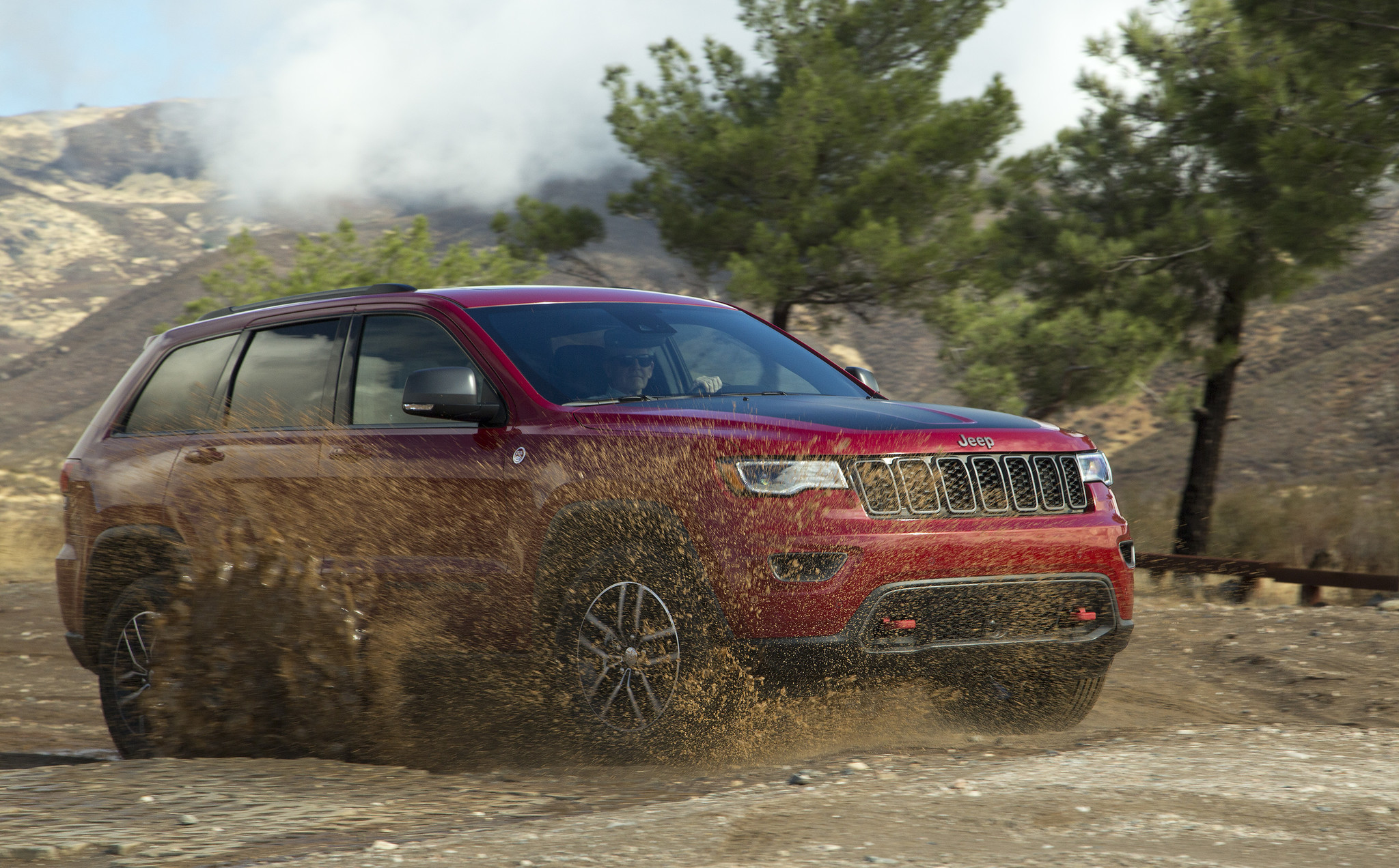 Puddle jumper: 2017 Jeep Grand Cherokee Trailhawk