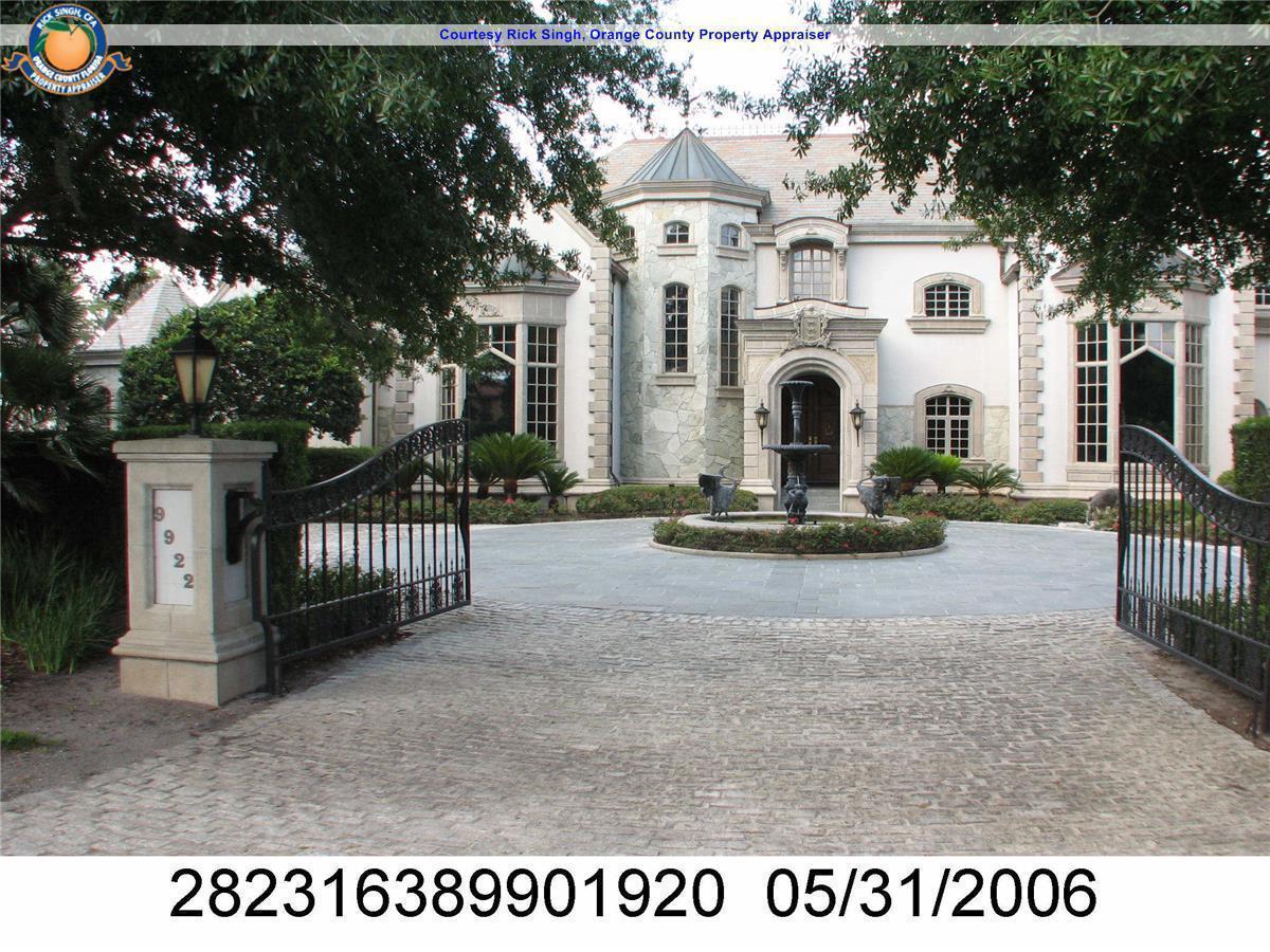 disney reshaped mansion landscape for orlando