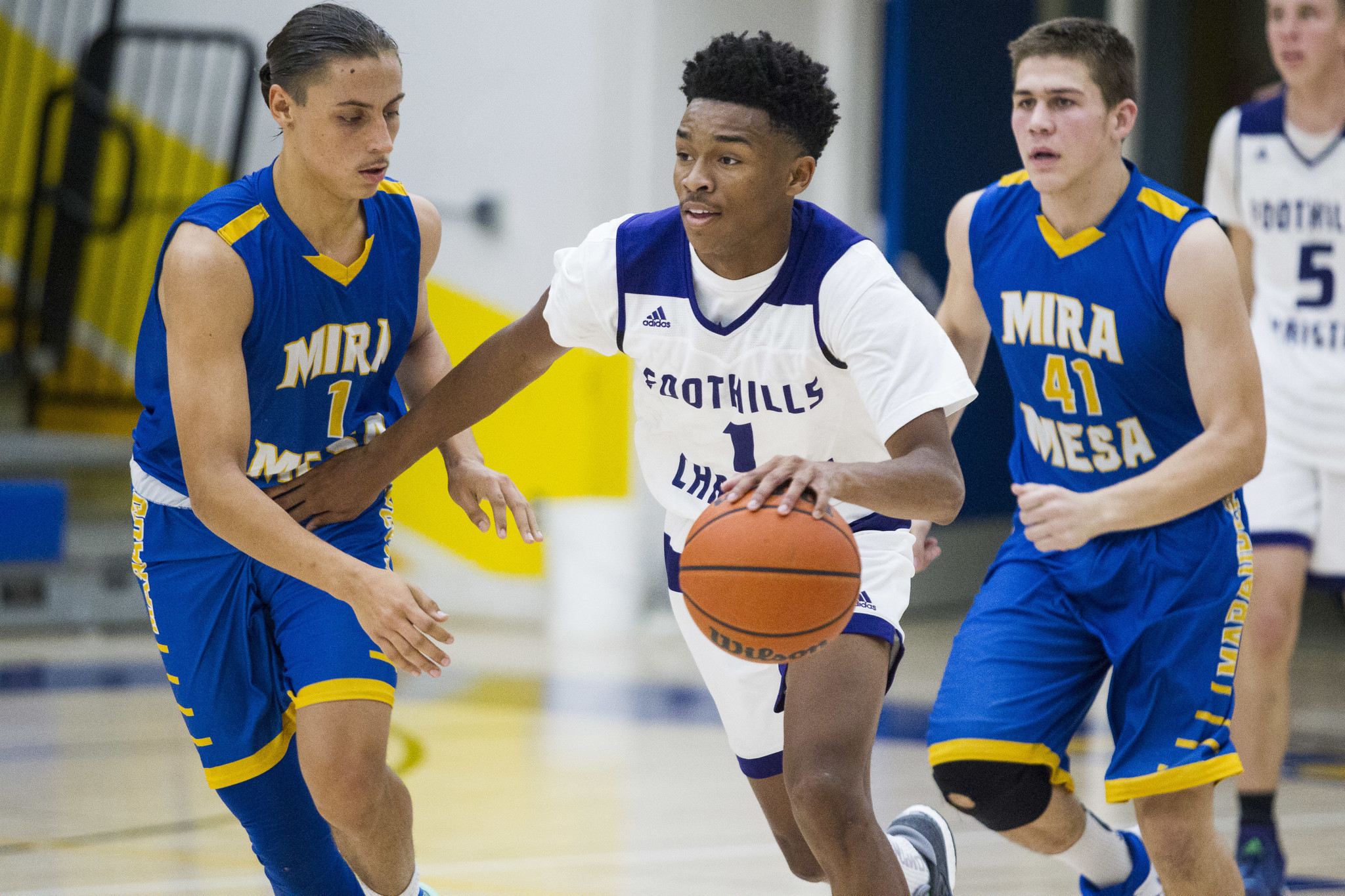 Another Basketball Standout At Foothills Christian The San Diego