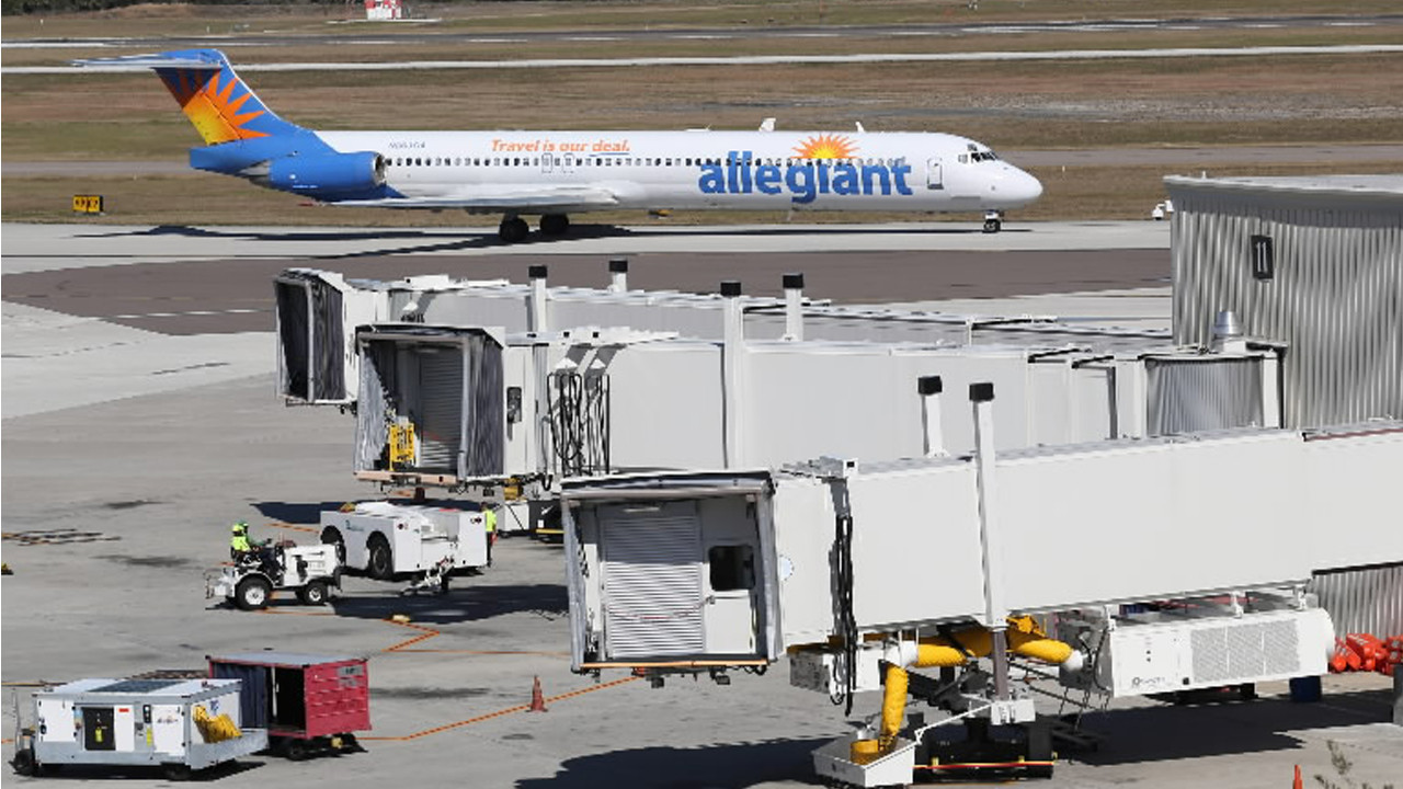 Allegiant Cancels Flights Out Of To Orlando Sanford On